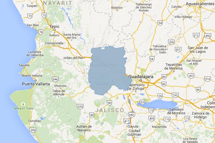 Regiones De Jalisco Gobierno Del Estado De Jalisco