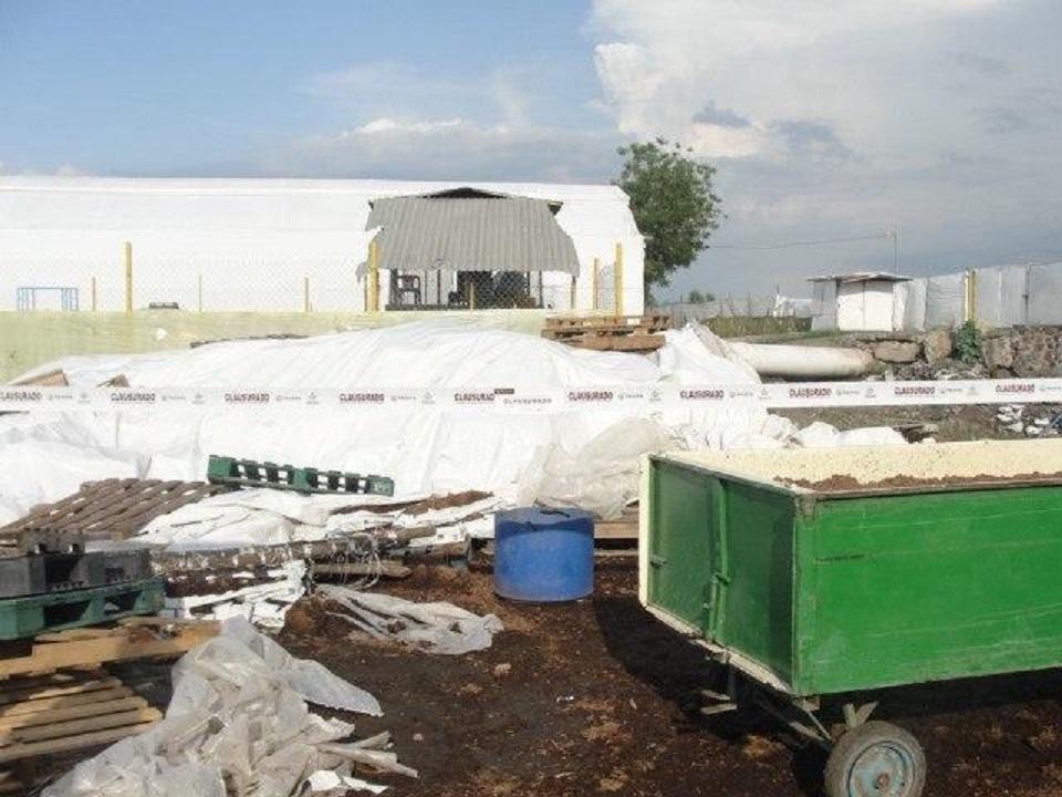 Clausura Proepa a productora de hortalizas en el municipio de Etzatlán por mal manejo de residuos