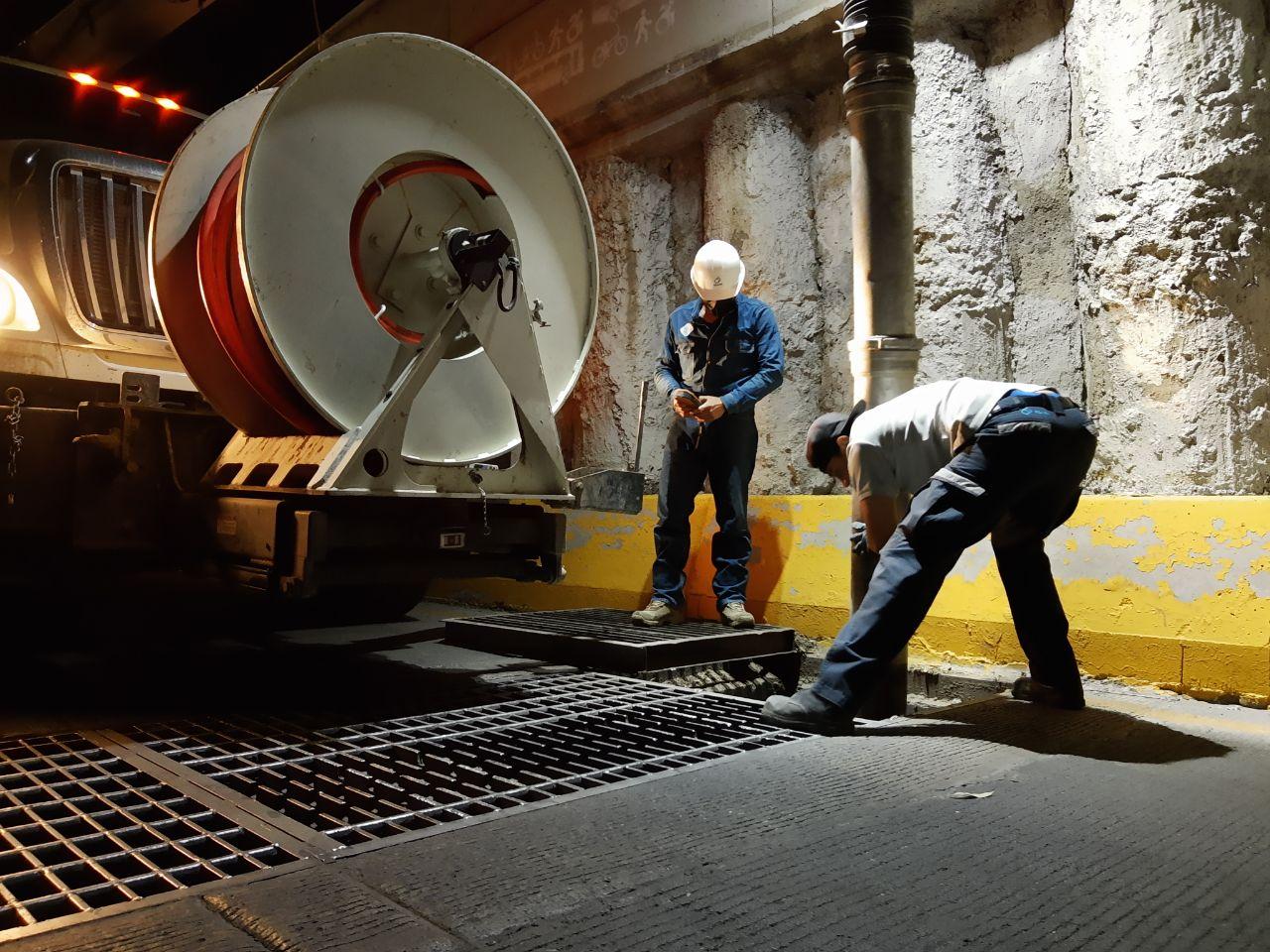 Avanza Siapa en los trabajos de mantenimiento y limpieza de la infraestructura hidráulica