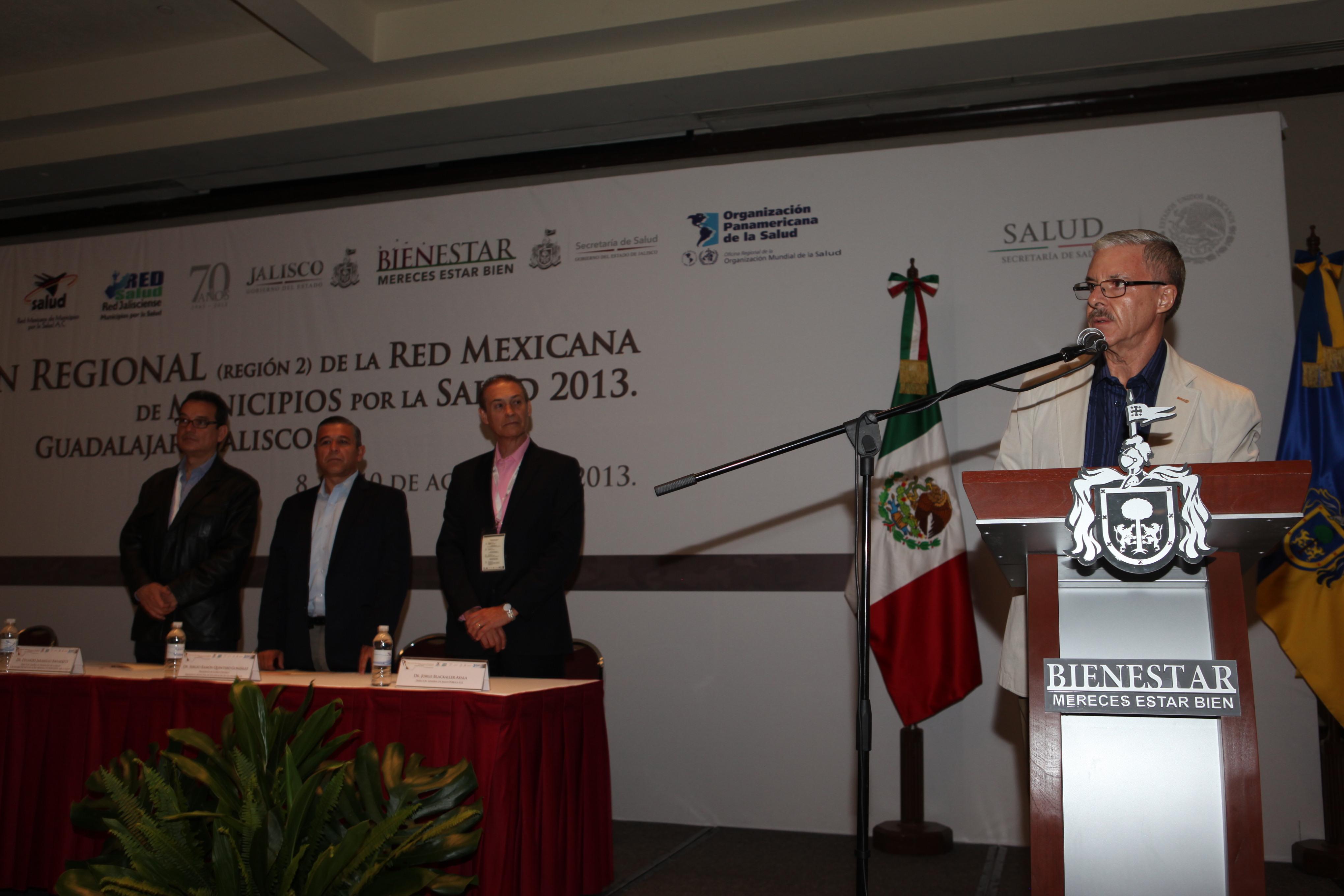 Concluye segunda reunión regional de la Red de Municipios por la Salud