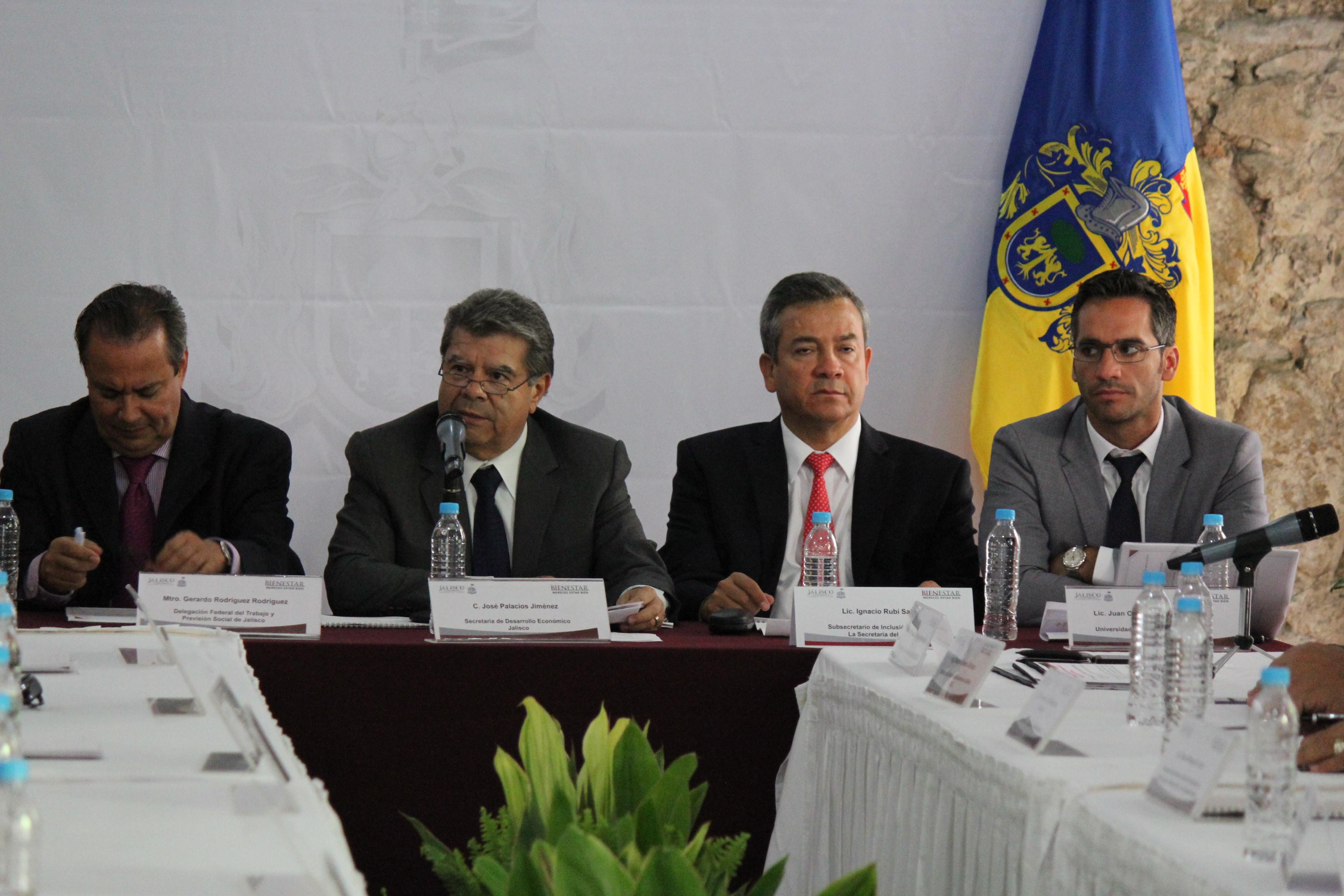 Instala SEDECO comité para la productividad en Jalisco