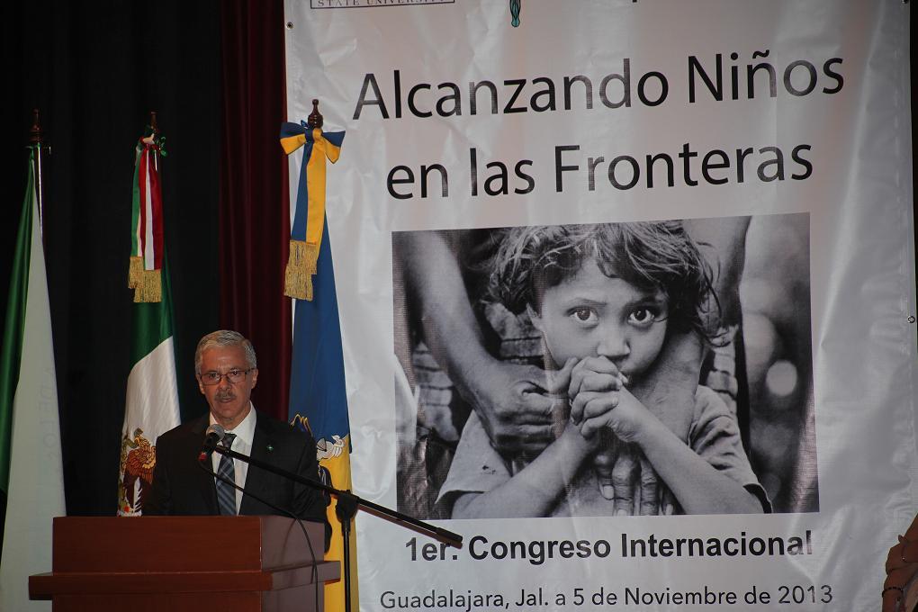 Inauguran primer Congreso Internacional Alcanzando Niños en las Fronteras