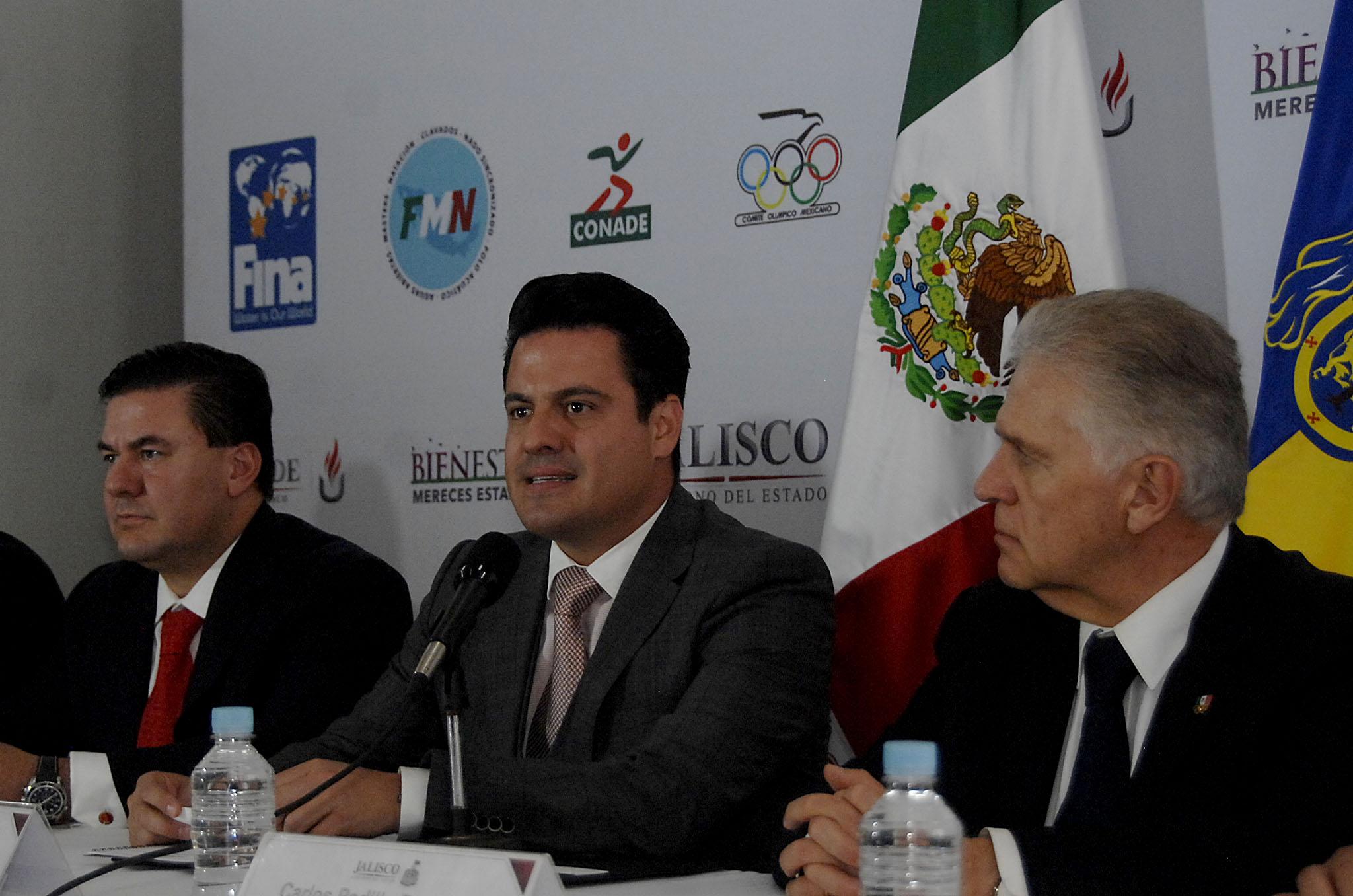 Avanzan los trabajos rumbo al Mundial de Natación Guadalajara 2017