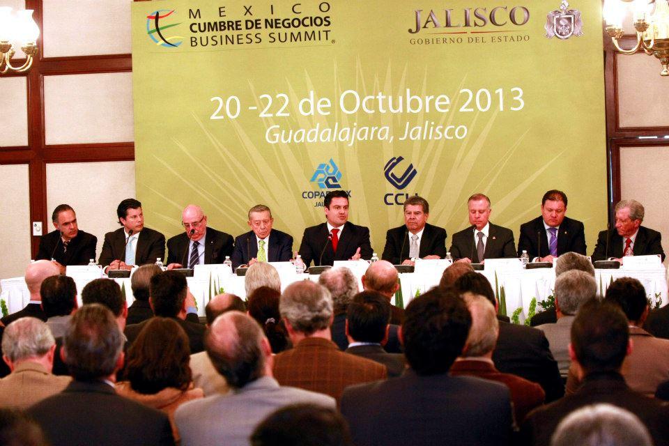 Anuncia Aristóteles que Jalisco será sede de México Cumbre de Negocios