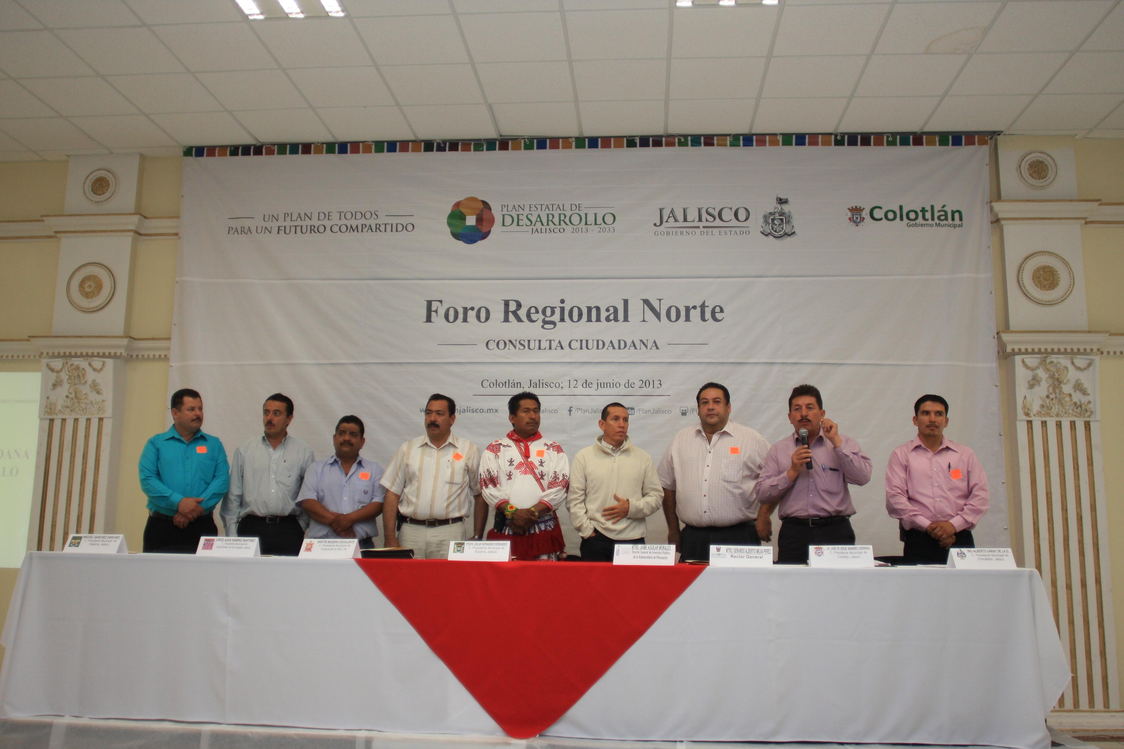 Inician foros regionales para la consulta del Plan Estatal de Desarrollo  2013-2033