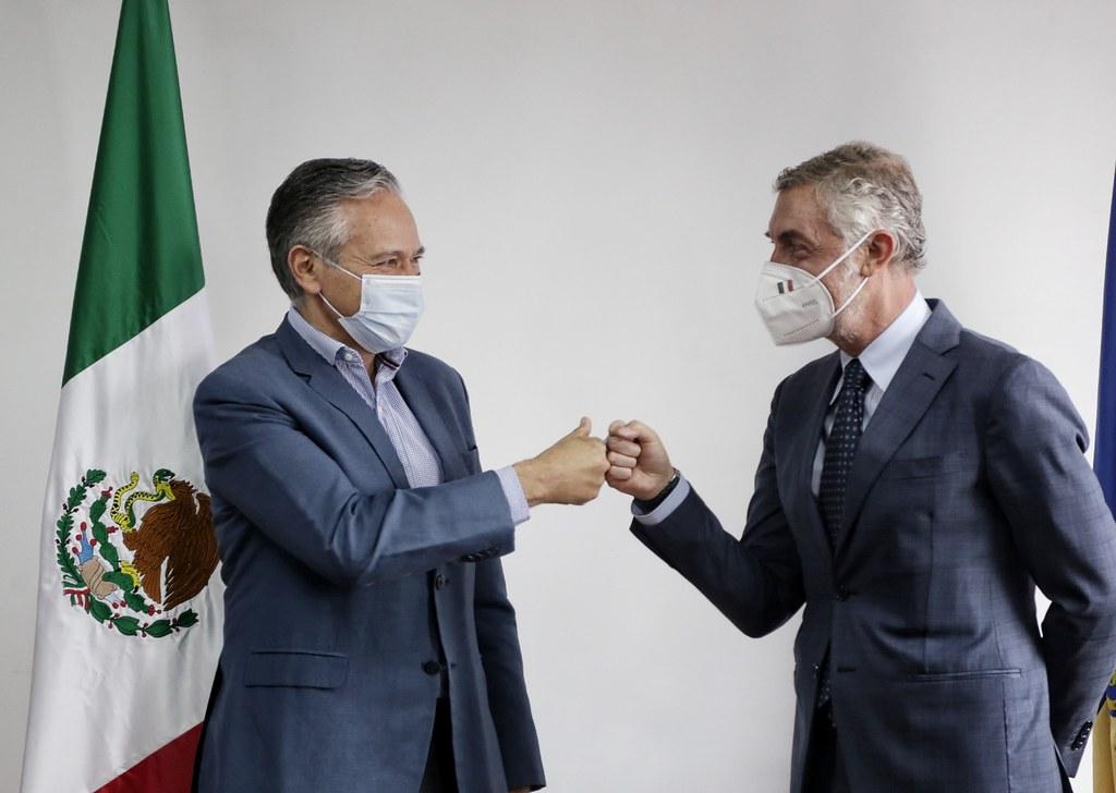 Estrechan Italia y Jalisco relación de cooperación económica