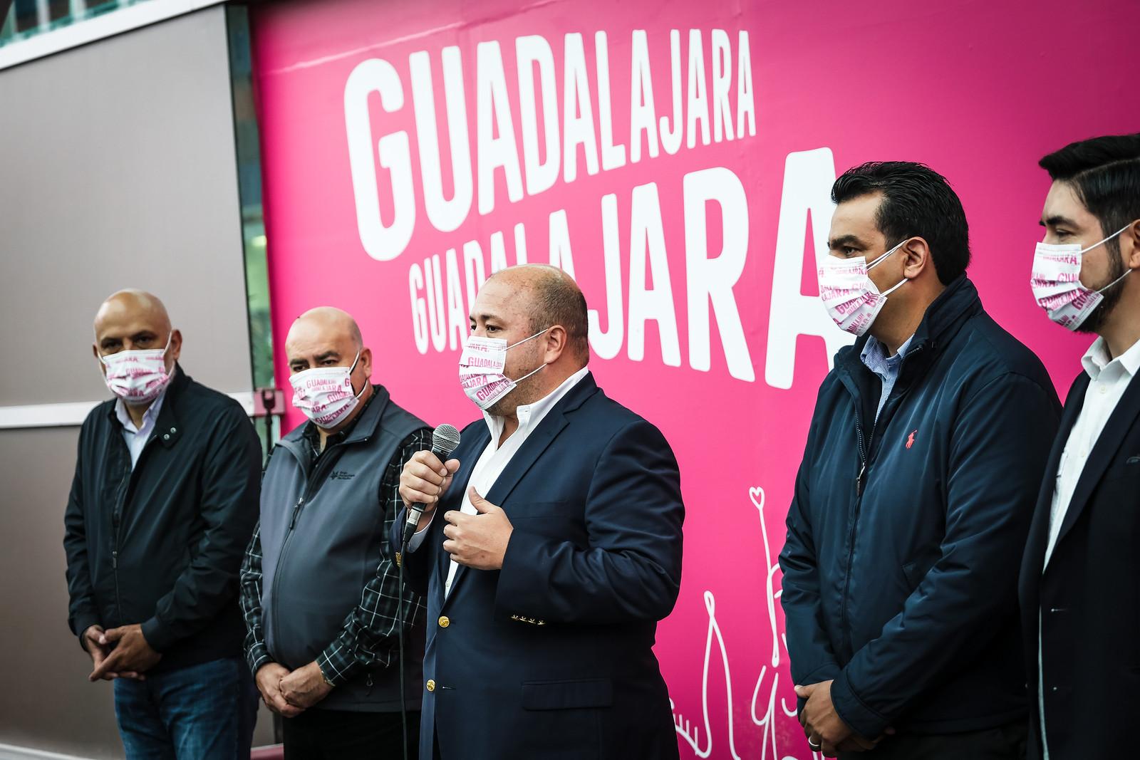 Supervisa Enrique Alfaro con autoridades del GAP obras de ampliación del Aeropuerto Internacional de Guadalajara; atraerán más vuelos para