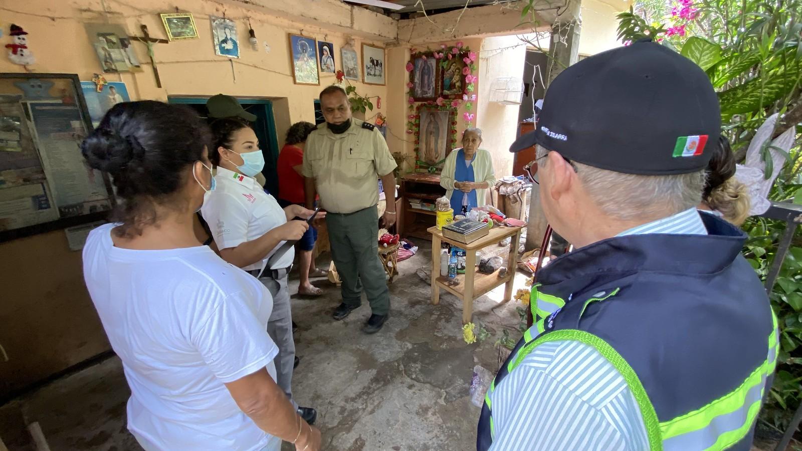 Autoridades de Gobierno supervisan trabajos de ayuda en Chimaltitán