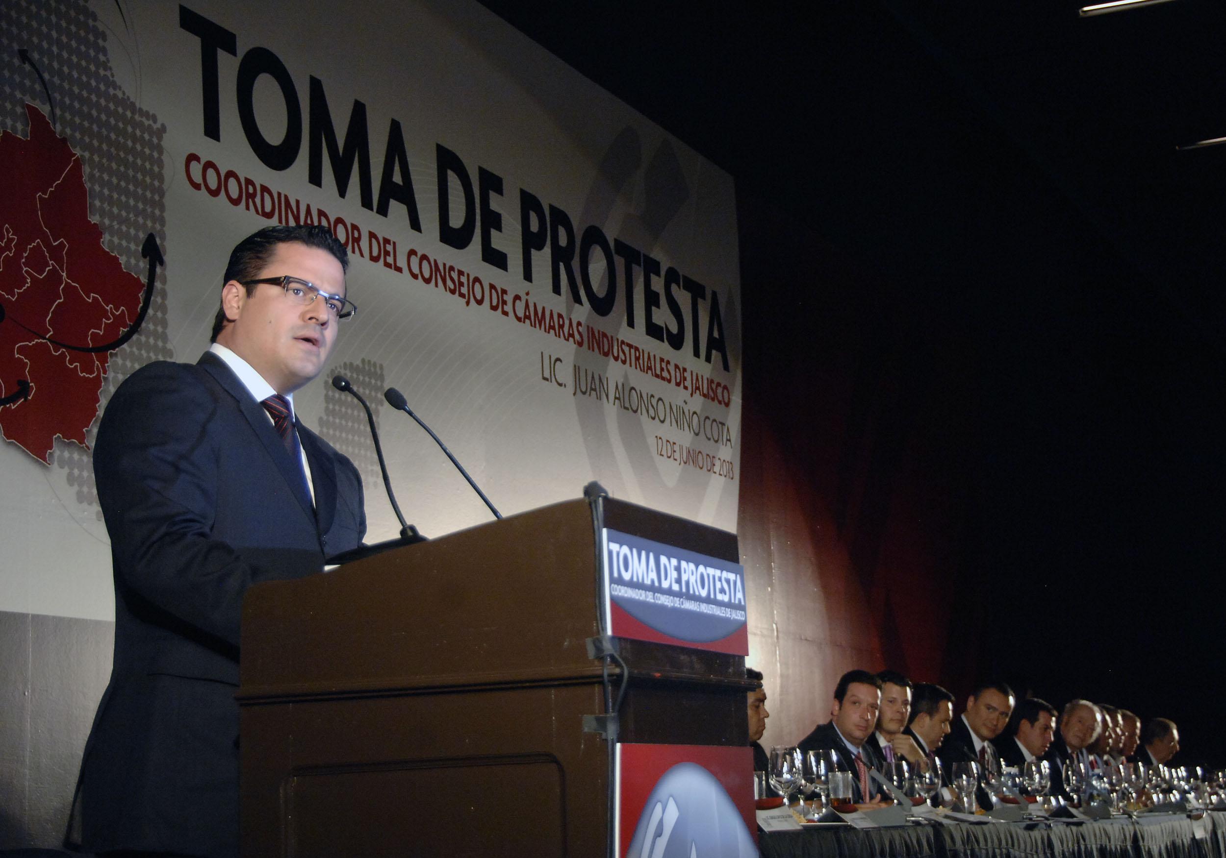 Toman protesta a Juan Alonso Niño Cota como Coordinador del CCIJ