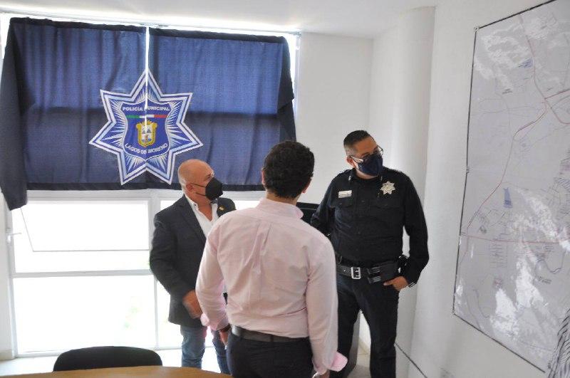 Supervisa CGES avances en la implementación del Centro de videovigilancia en Lagos de Moreno