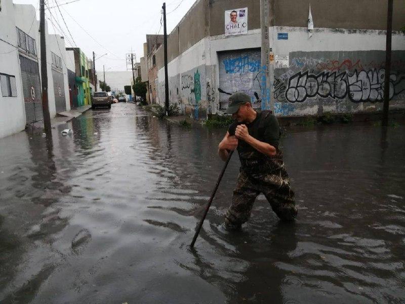 Gobierno de Jalisco y autoridades municipales trabajaron  de manera coordinada para brindar atención por lluvia en el AMG
