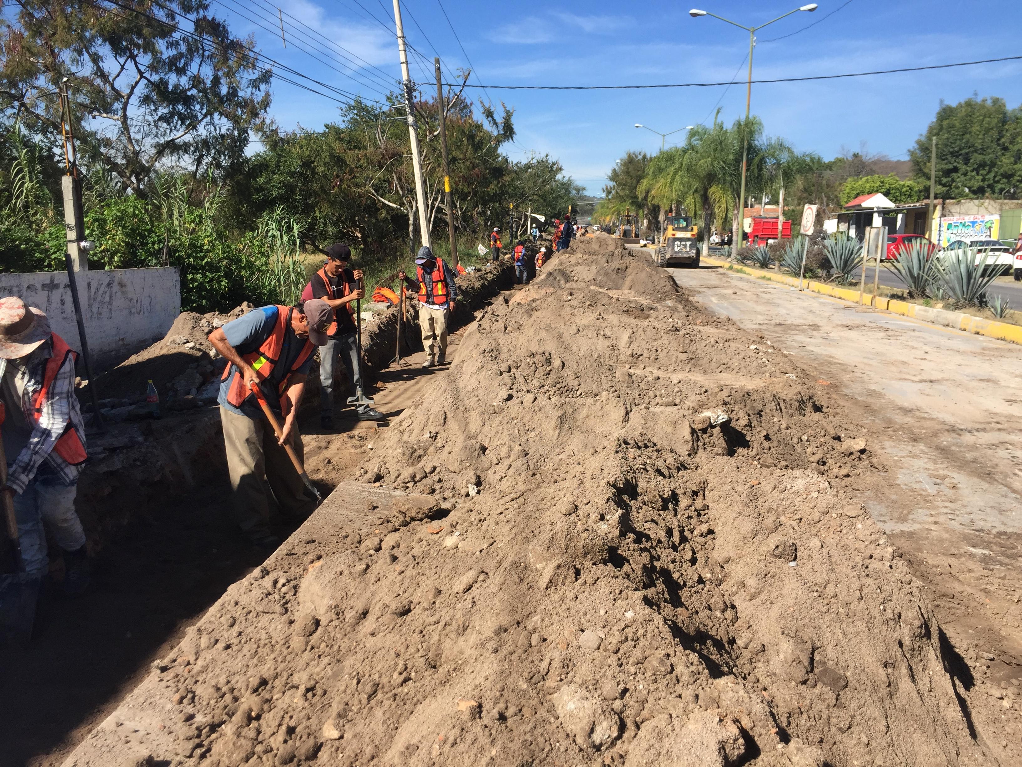 Inicia SGIA obra para abastecer a Juanacatlán