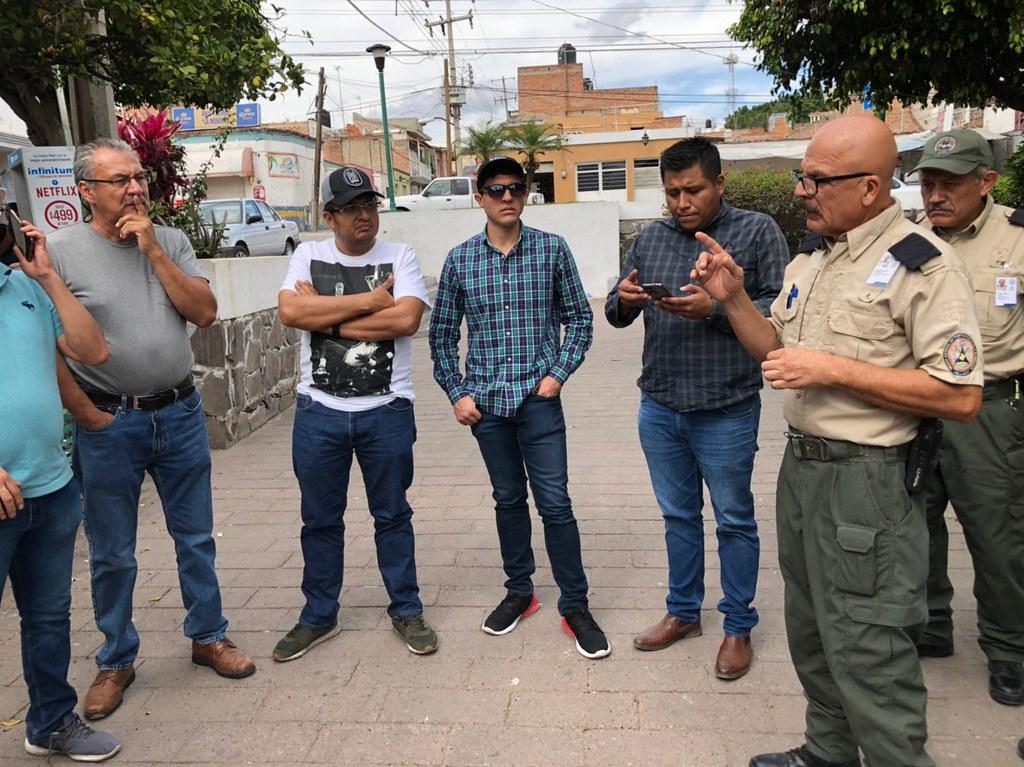 Censan casas previo a obras en Puente Grande