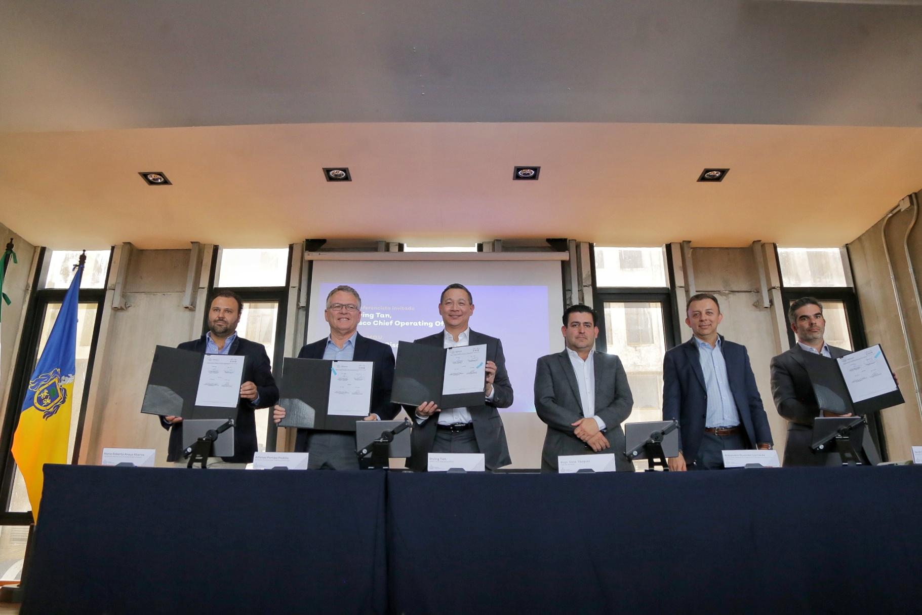 Colaboran Jalisco y Cisco México para fomentar la innovación en el estado