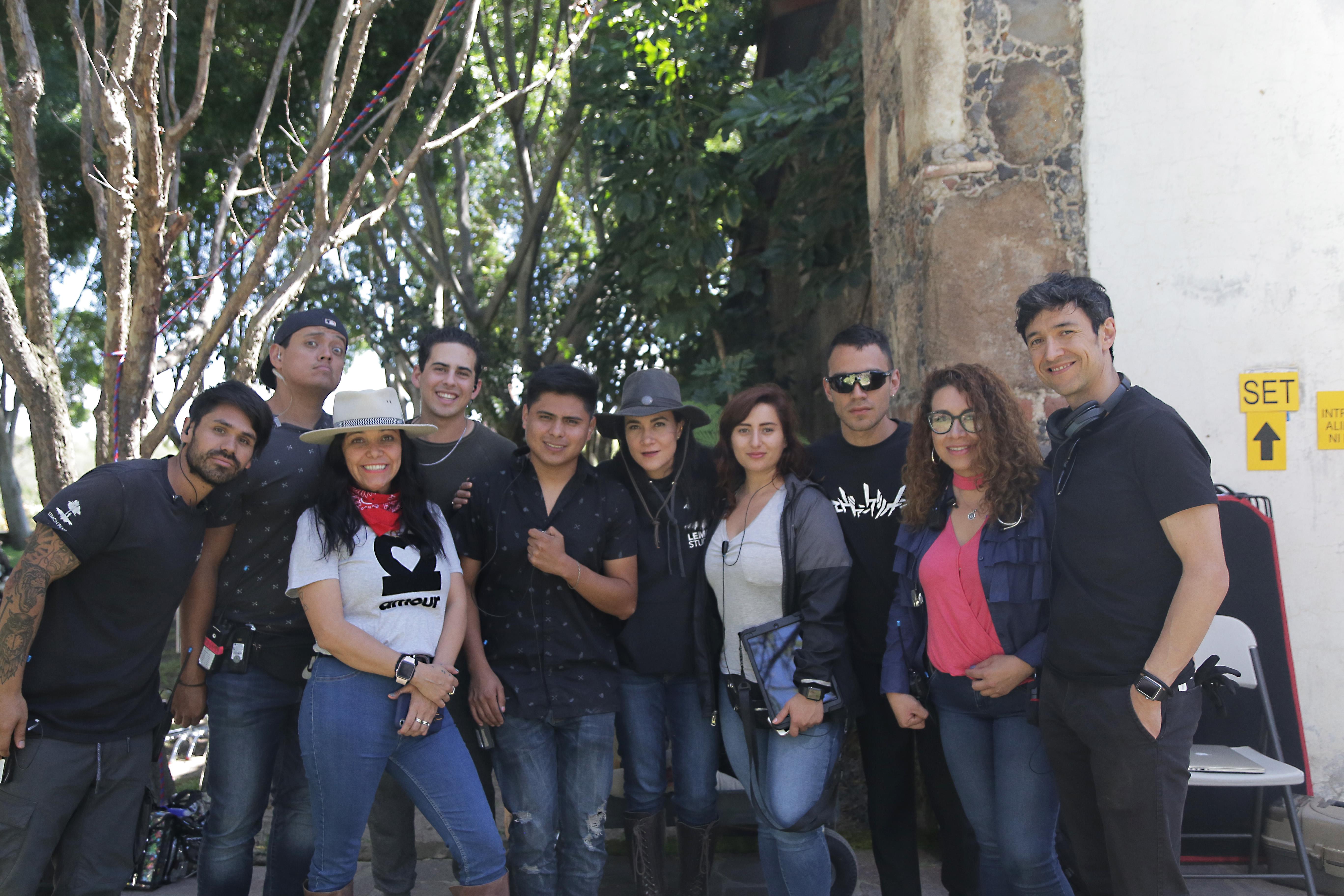 """Recibe Jalisco a """"Monarca"""", producción de Netflix y Lemon Films"""
