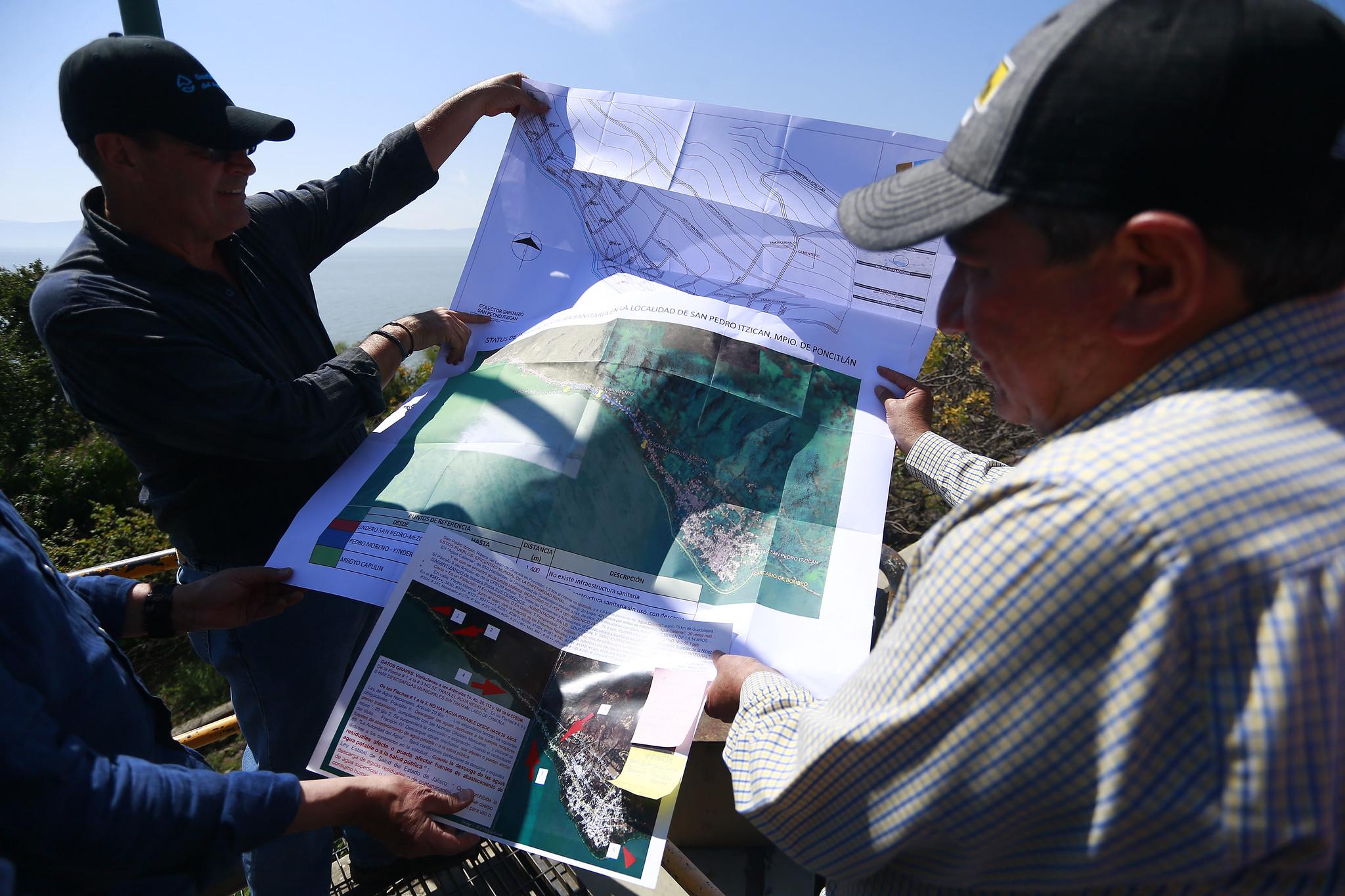 Realiza SGIA gira de supervisión de obras estratégicas para la recuperación del Río Santiago