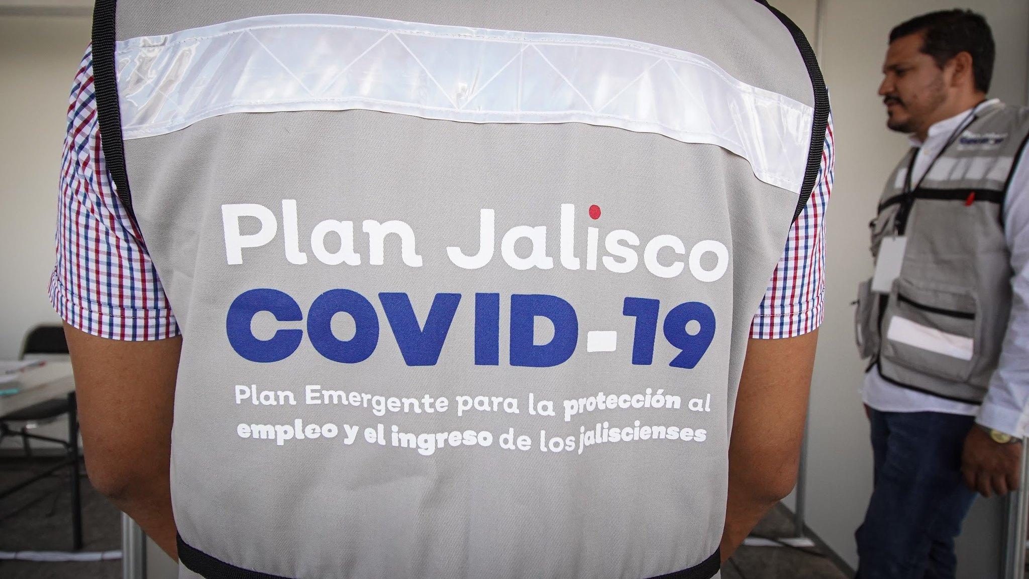 Este lunes arrancó el Plan Emergente para la Protección al Empleo y al Ingreso de las Personas, como parte del Plan Jalisco COVID-19.
