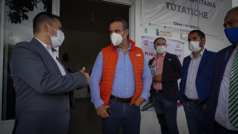 Continúa Procuraduría Social su trabajo por municipios de Jalisco en la nueva normalidad