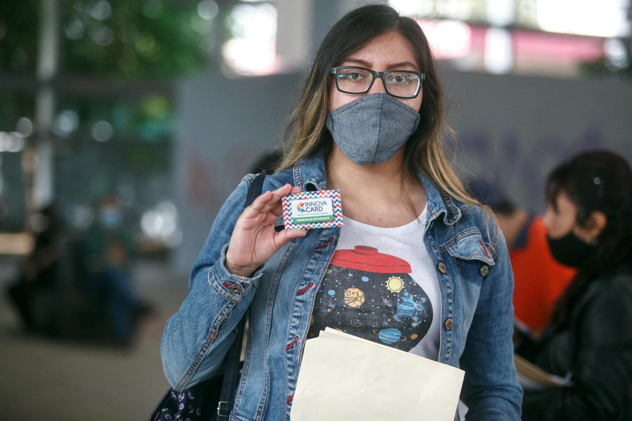Comienza entrega de credenciales Mi Pasaje verde a estudiantes