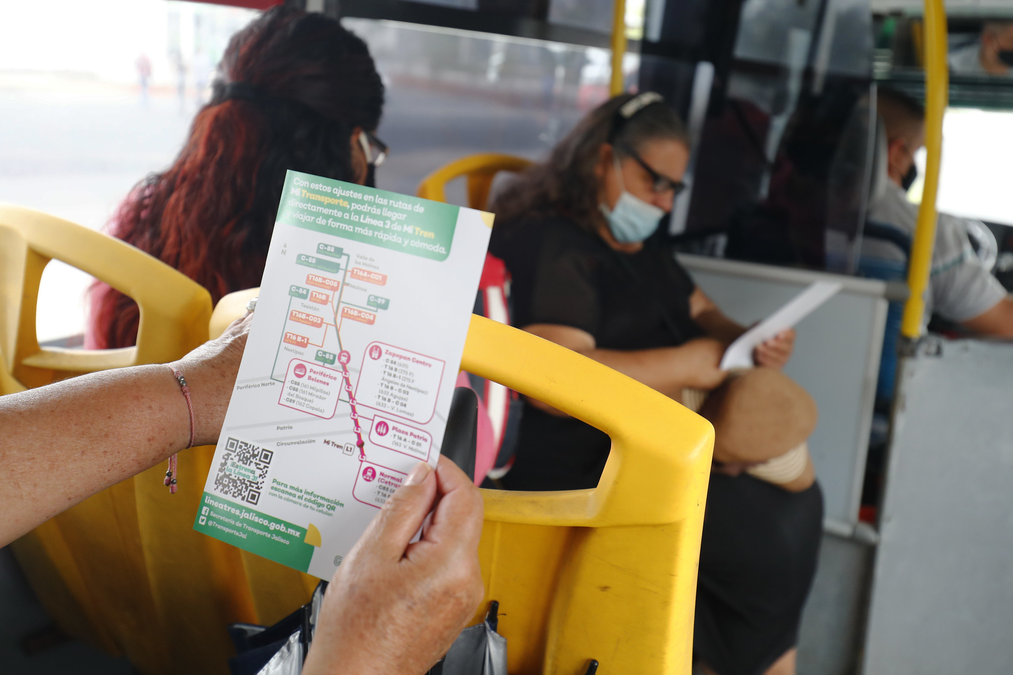 Inician ajustes en Zona 2 de rutas de transporte público por el arranque de la Línea 3