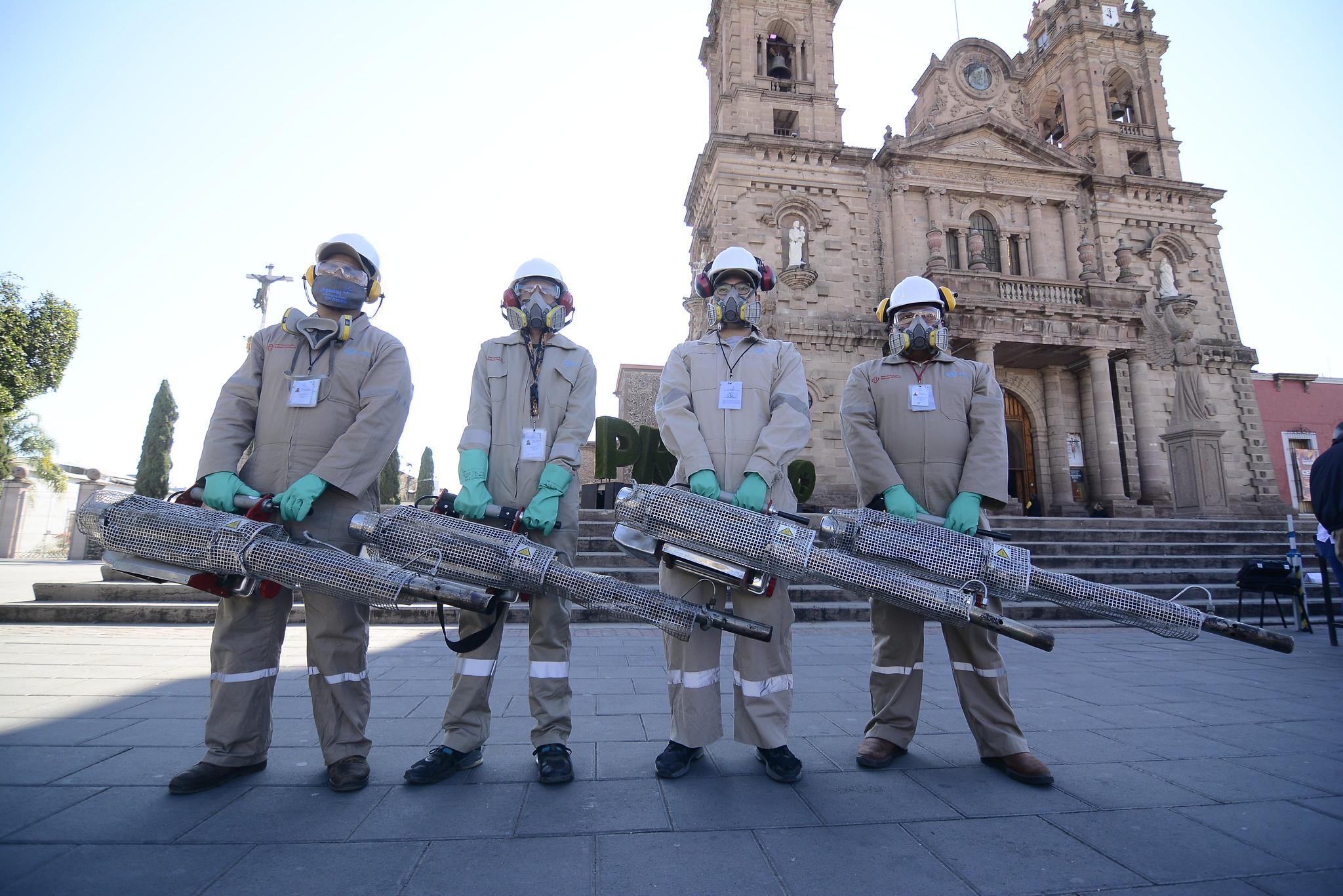 """Realizan Día """"D"""" combate al dengue en el municipio de Ocotlán"""