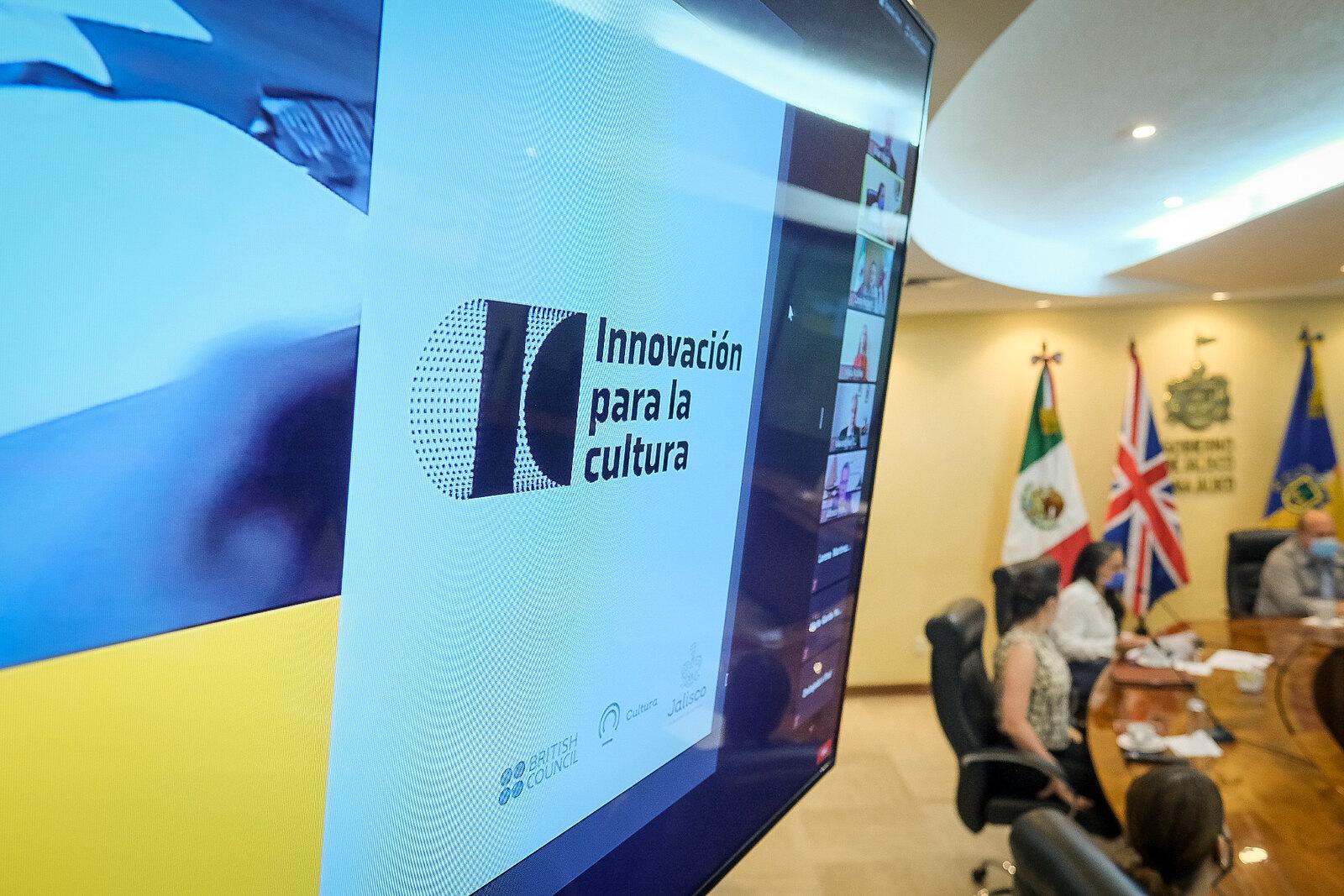 Presenta Jalisco en alianza con British Council México 'Innovación para la Cultura', para el diseño participativo de políticas culturales