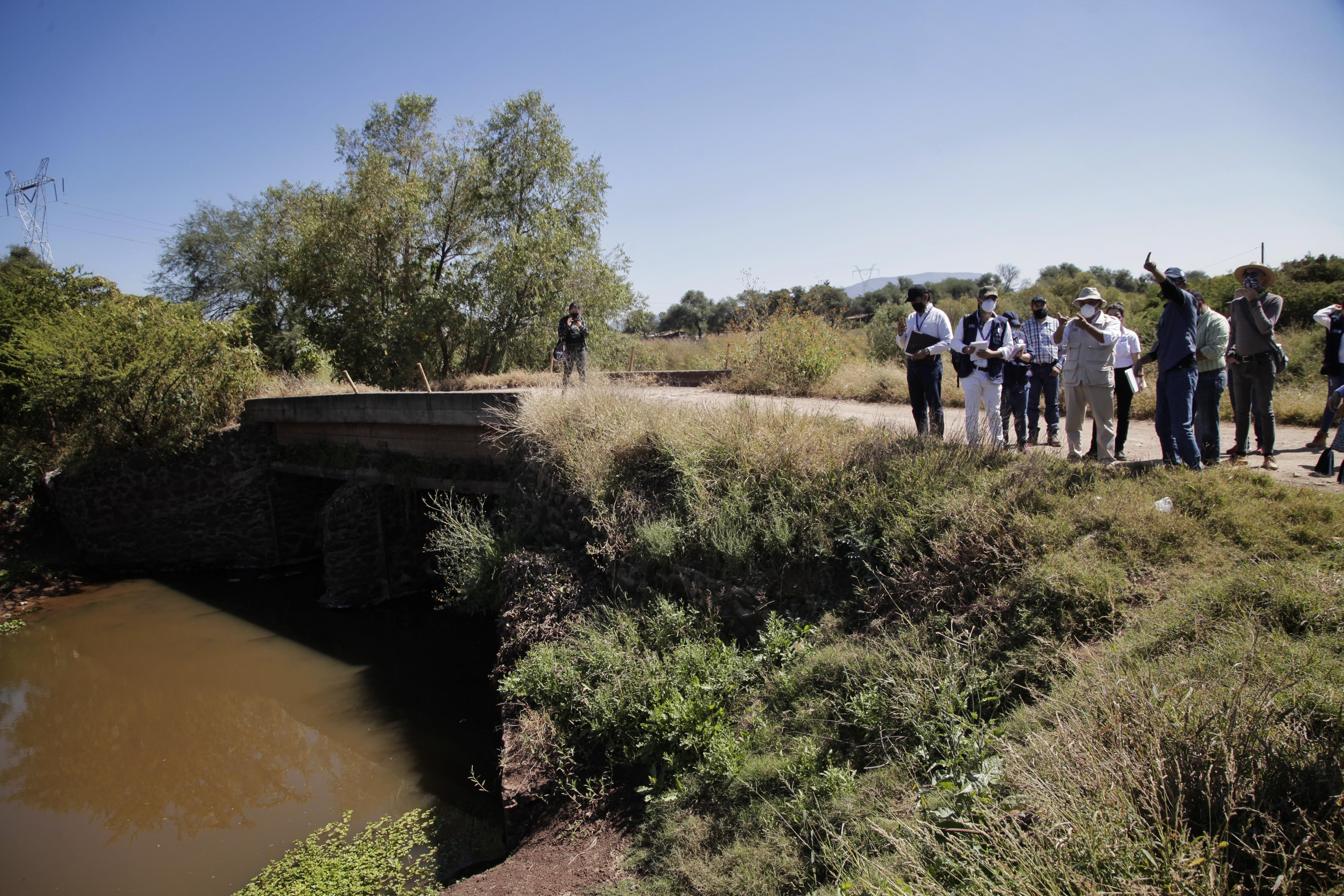 CEDHJ, Semadet, Secretaría de Gestión Integral del Agua y asociaciones civiles realizan recorrido en las cuencas de los ríos Zula y Santiago