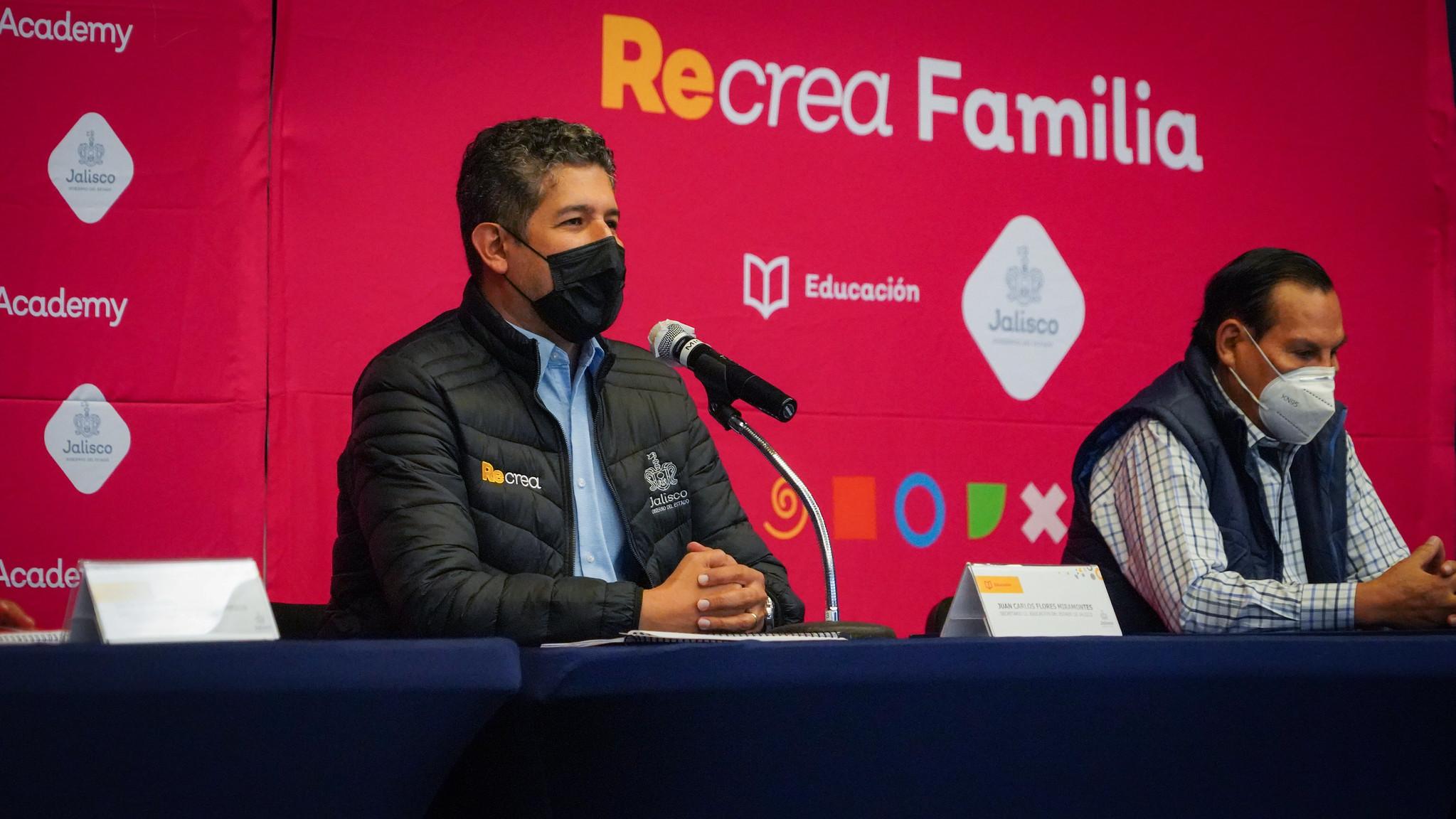 """Anuncia Secretario de Educación segunda edición de """"Recrea Academy"""" y primera de """"Recrea Familia"""""""