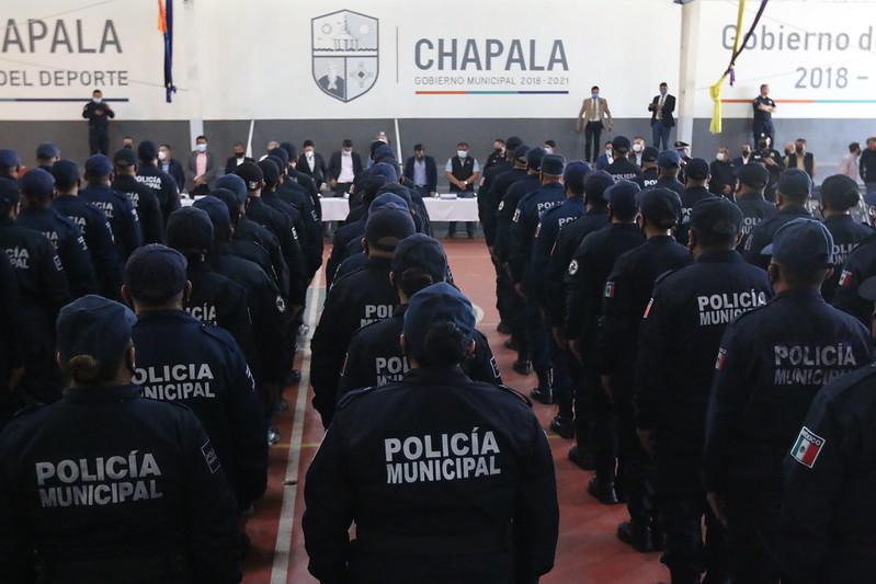 Concluyen 77 policías el Primer Curso de Formación Inicial, en su modalidad Equivalente e Itinerante