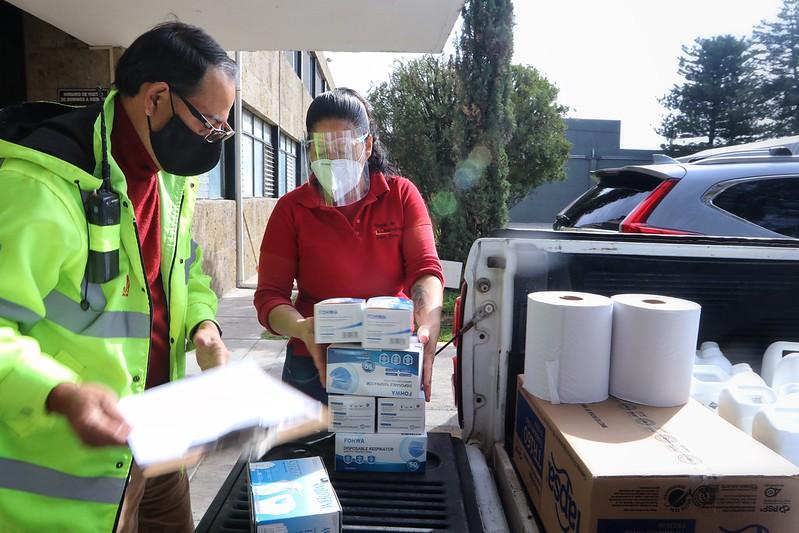 Entrega DIF Jalisco apoyo a asilos