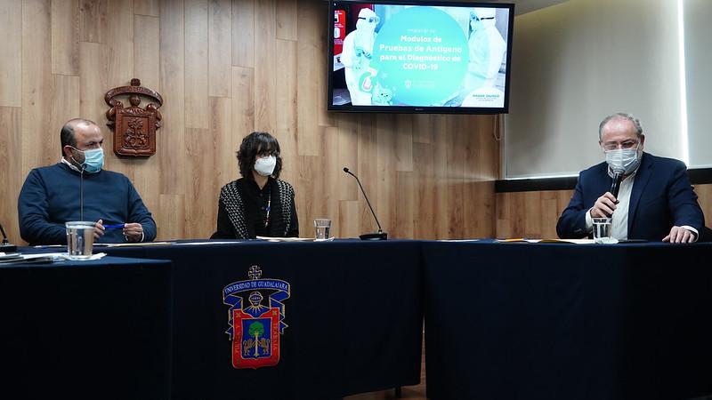 Gobierno de Jalisco y UdeG abren nuevos módulos para detección de COVID-19 en cinco regiones del Estado