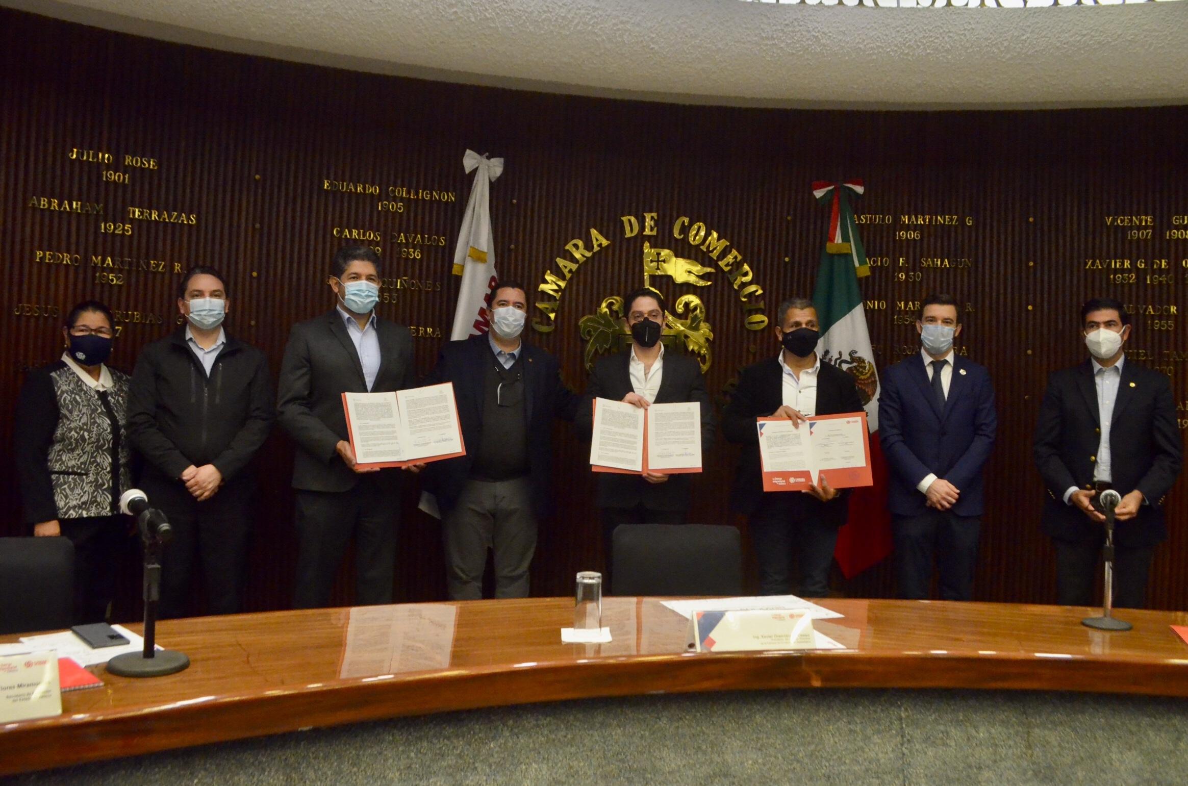 Ofrecerá Cámara de Comercio de Guadalajara becas de capacitación al personal operativo de las corporaciones de seguridad en el estado