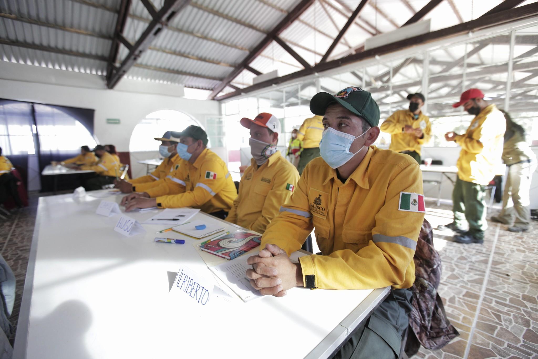 Combatientes forestales de Jalisco están capacitados para hacer frente a los incendios