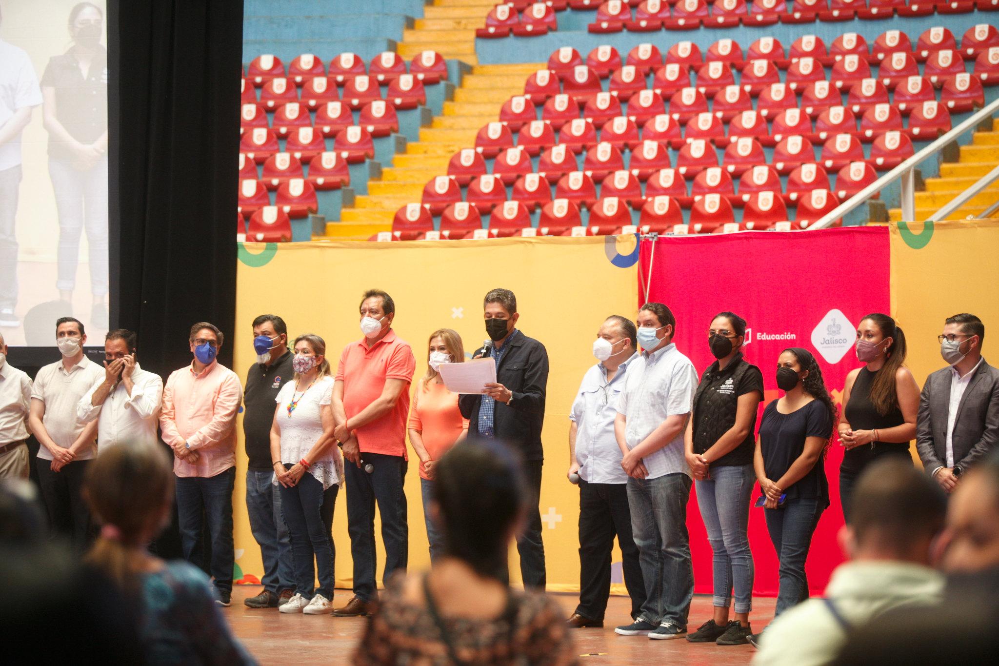 Culmina jornada de vacunación contra el COVID-19 para personal educativo de Jalisco