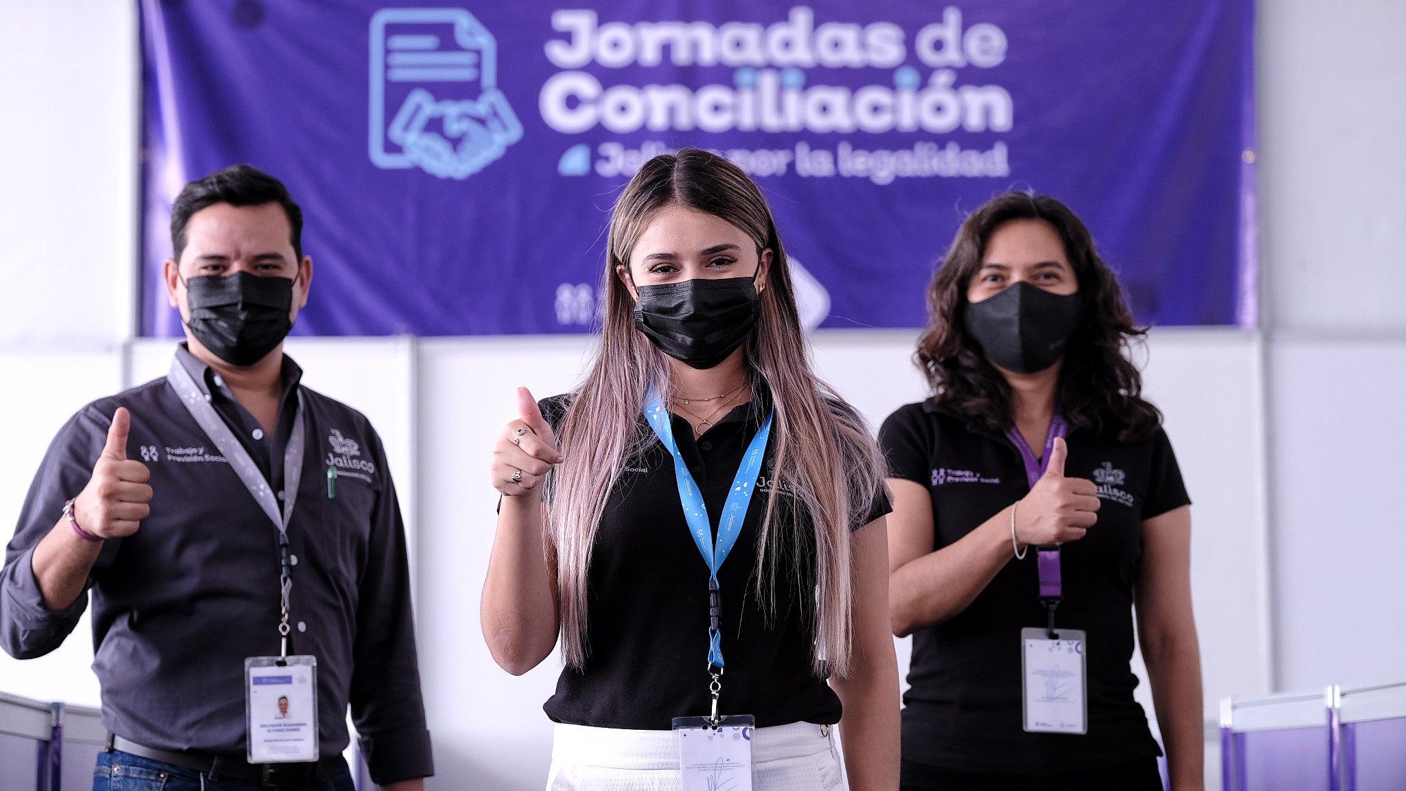 Inician las segundas Jornadas de la Conciliación, Jalisco por la Legalidad