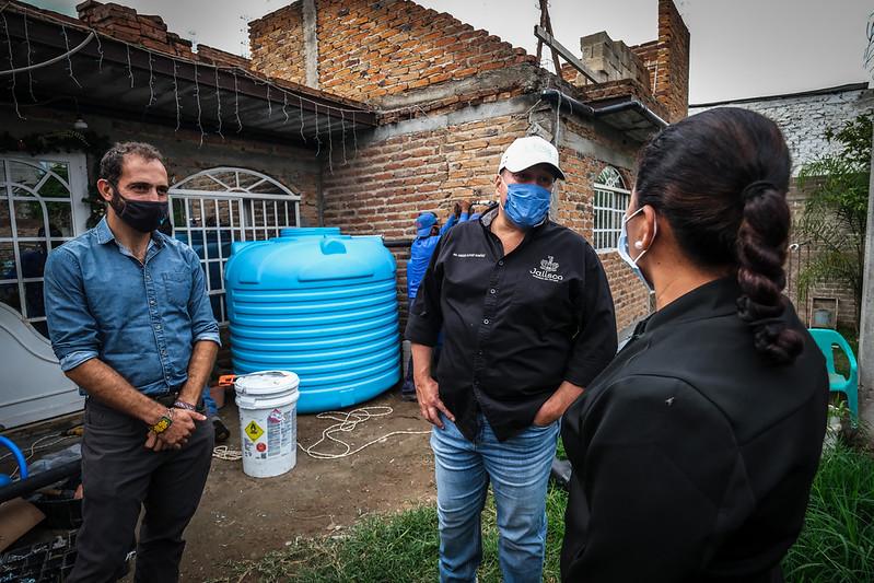 Arranca Nido de Lluvia, programa para abasto de agua en la Mesa Colorada con captación de agua pluvial