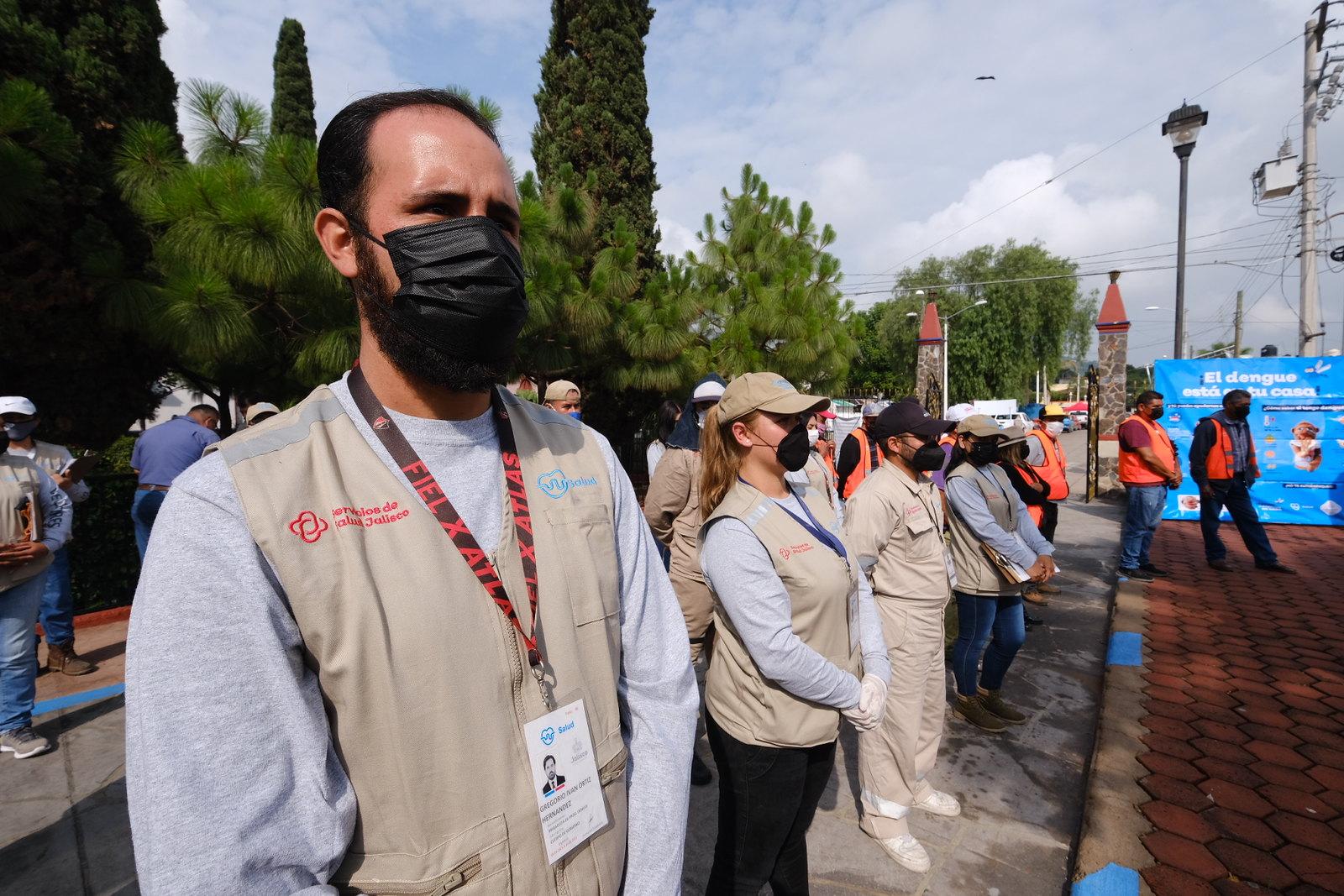 Combaten al mosco transmisor del dengue en San Miguel Cuyutlán, Tlajomulco