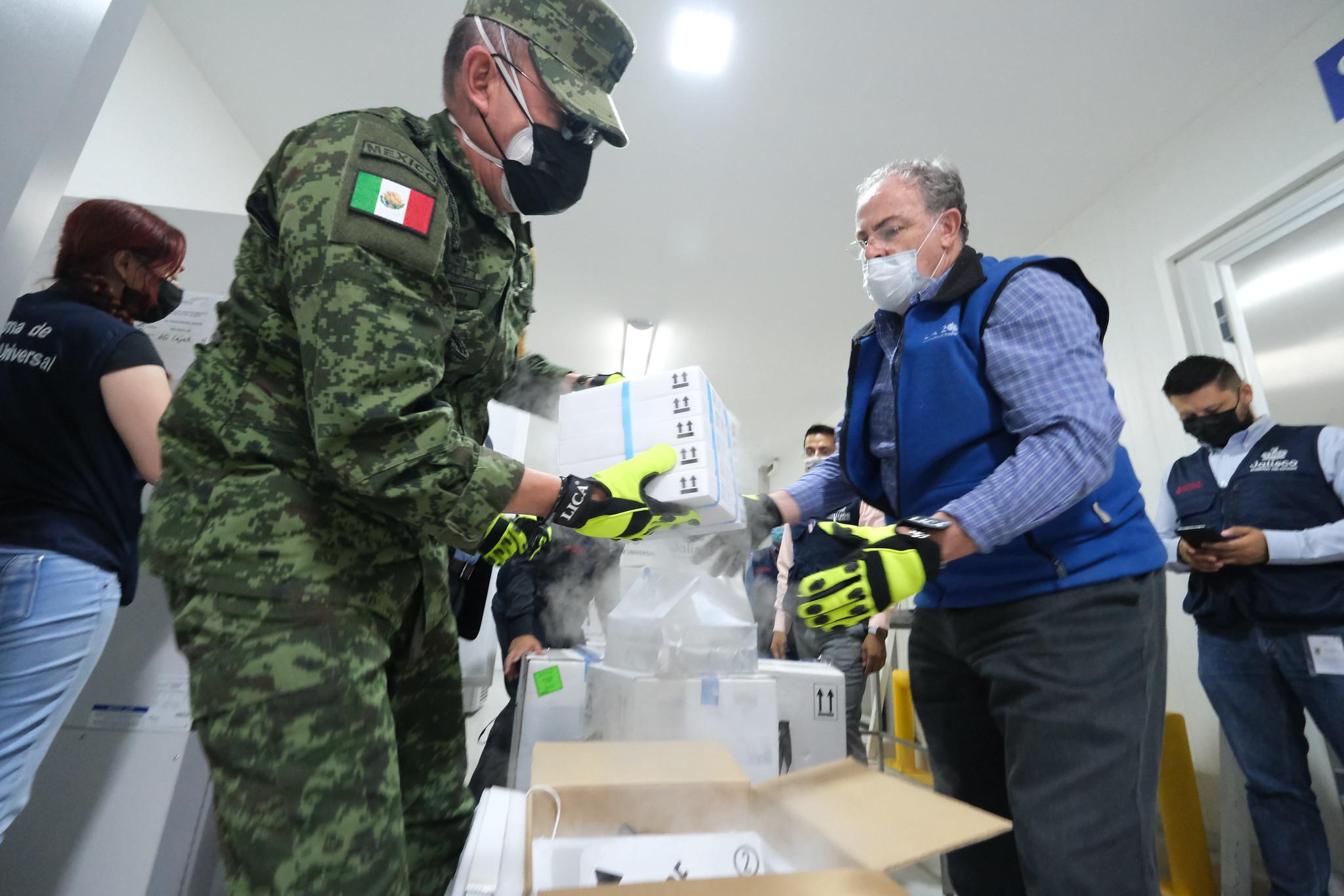 Recibe Jalisco 481 mil 210 vacunas contra COVID-19