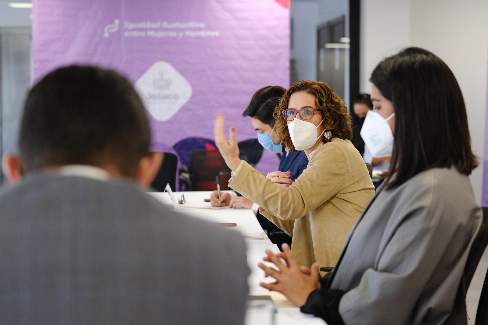 Autoridades del Gobierno de Jalisco llevan a cabo diálogo con ONU Mujeres sobre acciones para mejorar la calidad de vida de las mujeres y niñas jaliscienses