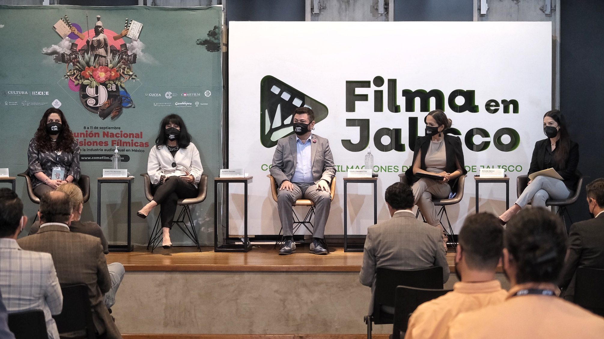 Arranca la 9ª Reunión Nacional de Comisiones Fílmicas, Jalisco es la sede este año