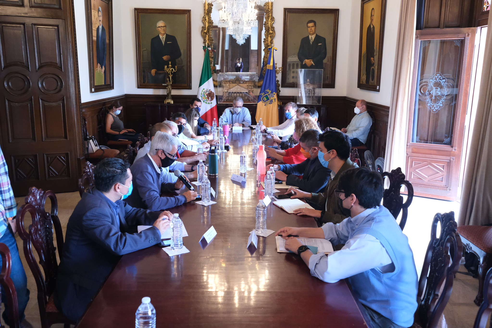 Continúan mesas de trabajo sobre el financiamiento de los partidos políticos en Jalisco