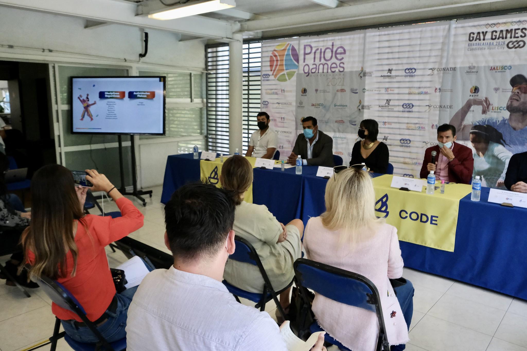 Guadalajara será sede de los Pride Games 2021