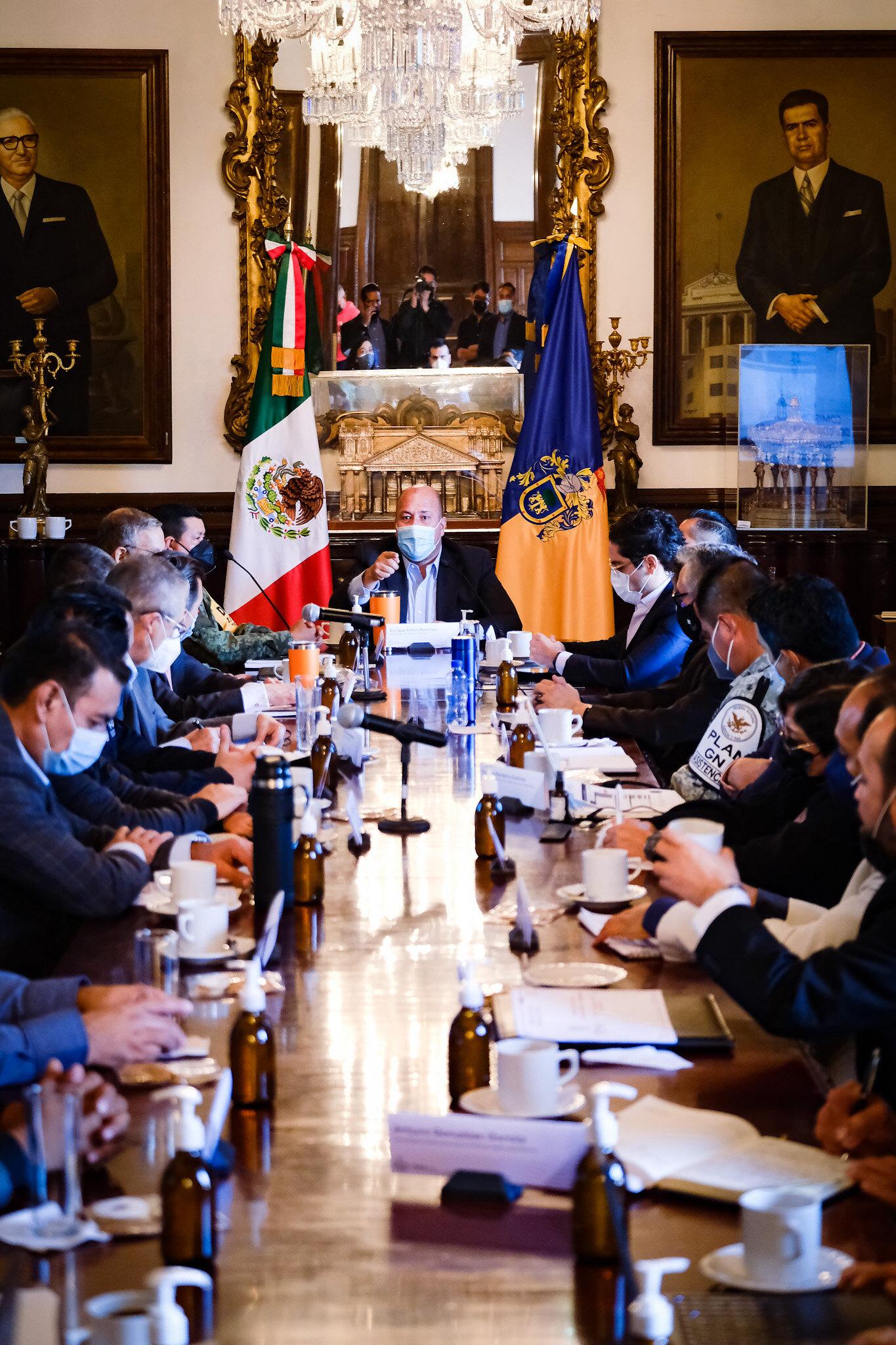 Integración de los nuevos alcaldes del AMG al Consejo Estatal de Seguridad, fortalece la coordinación metropolitana