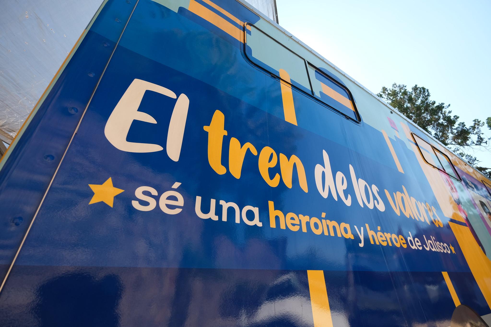 Arranca el Tren de los Valores en Amacueca