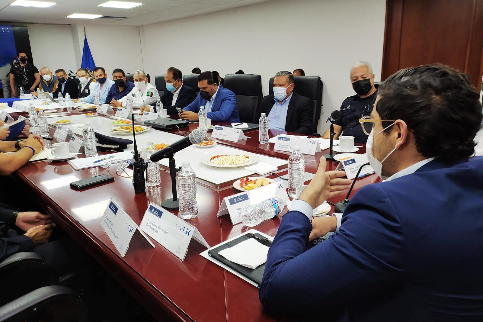 Acuerdan acciones de seguridad para el Área Metropolitana de Guadalajara