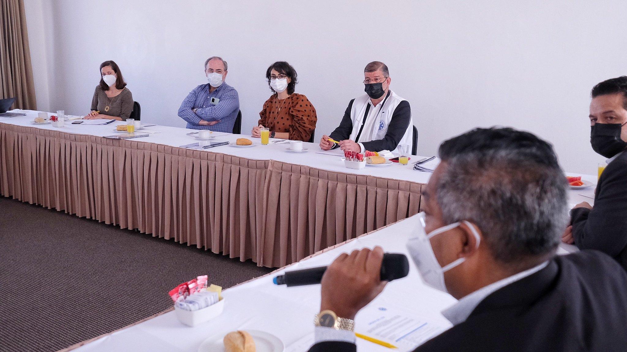 Médicos franceses realizan visita para conocer el trabajo del SAMU en Jalisco