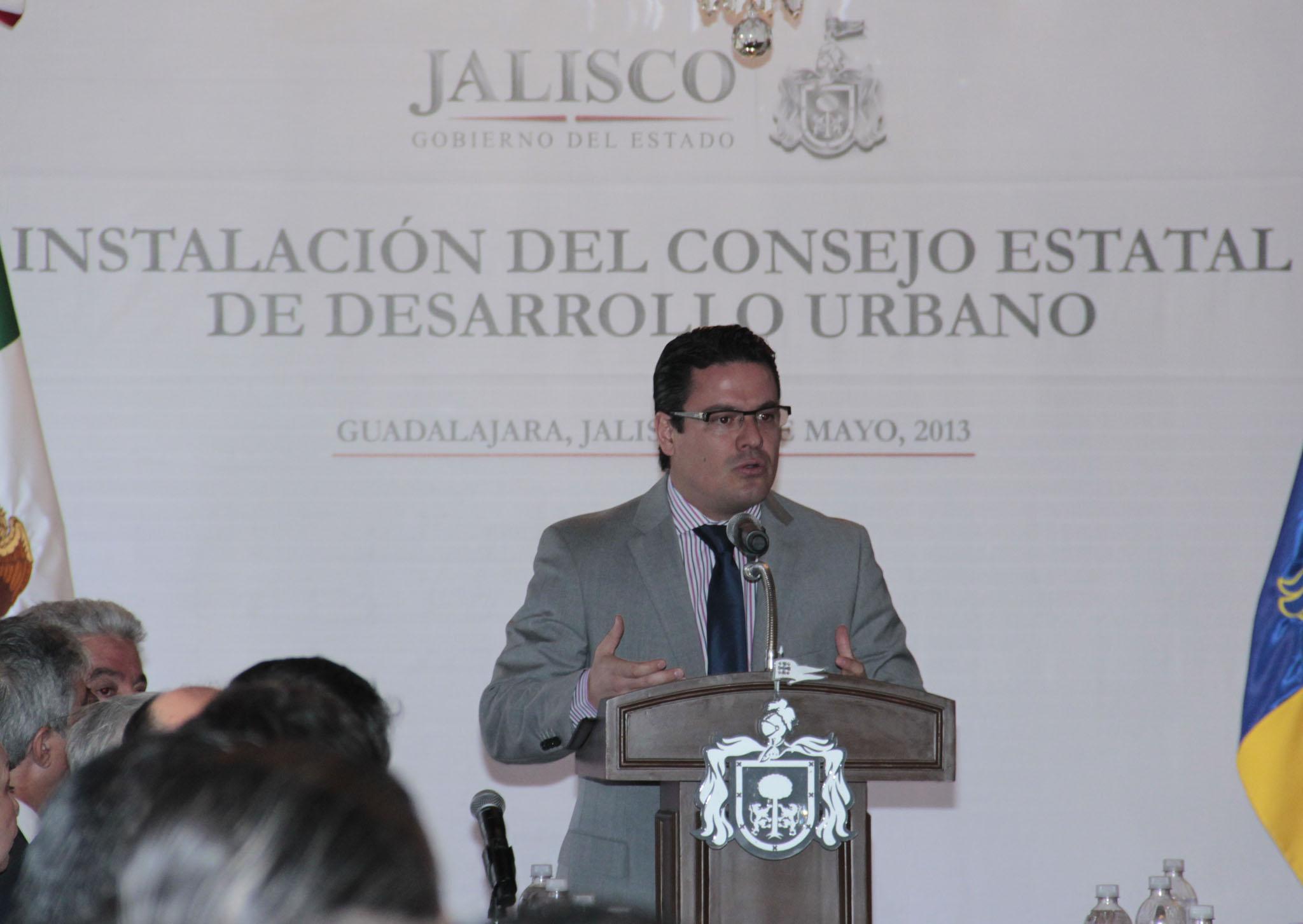 Instala Gobernador Aristóteles Sandoval Díaz Consejo Estatal de Desarrollo Urbano