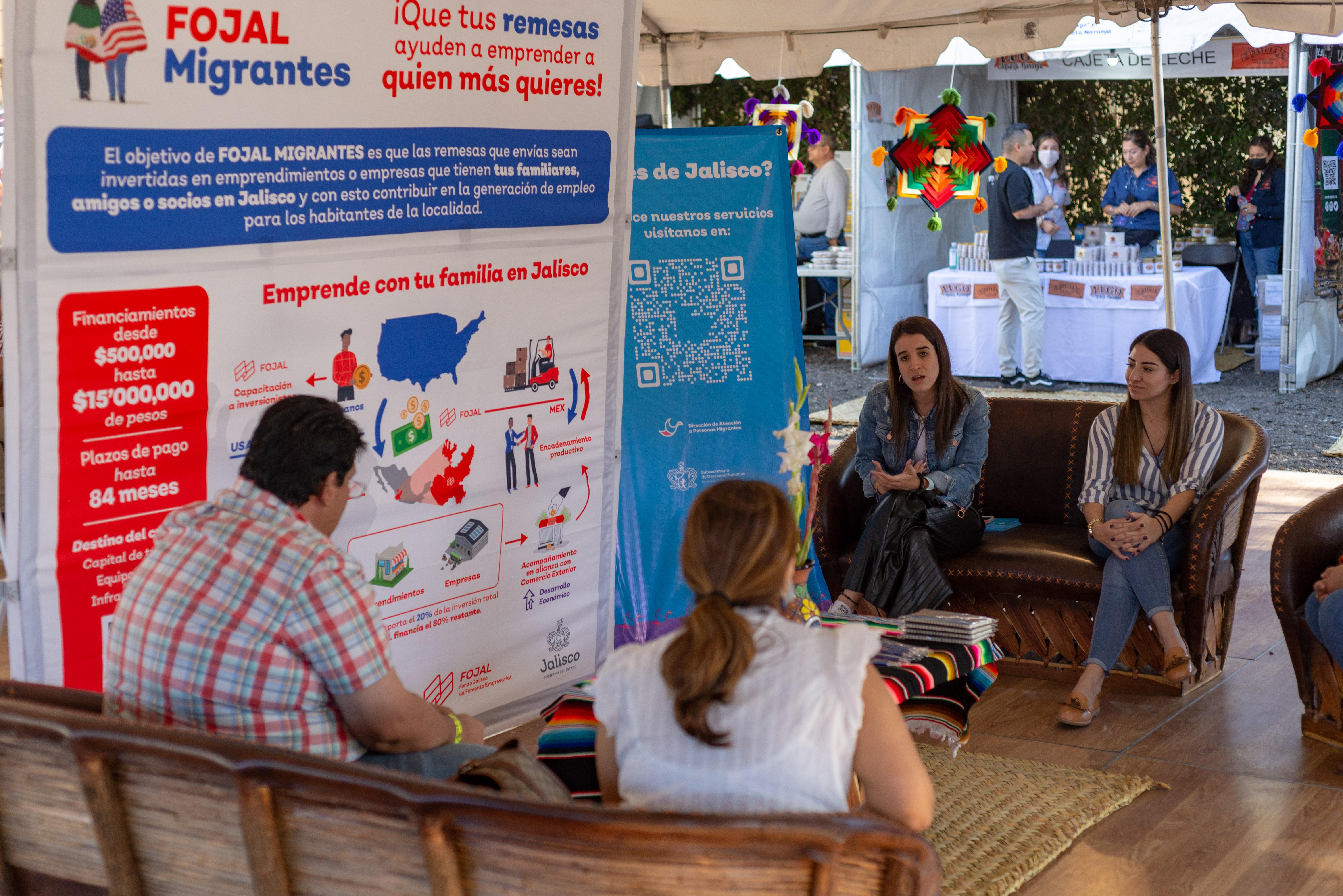 Impulsan el emprendimiento entre las comunidades de jaliscienses en Los Ángeles con el programa Jalisco Migrante Productivo