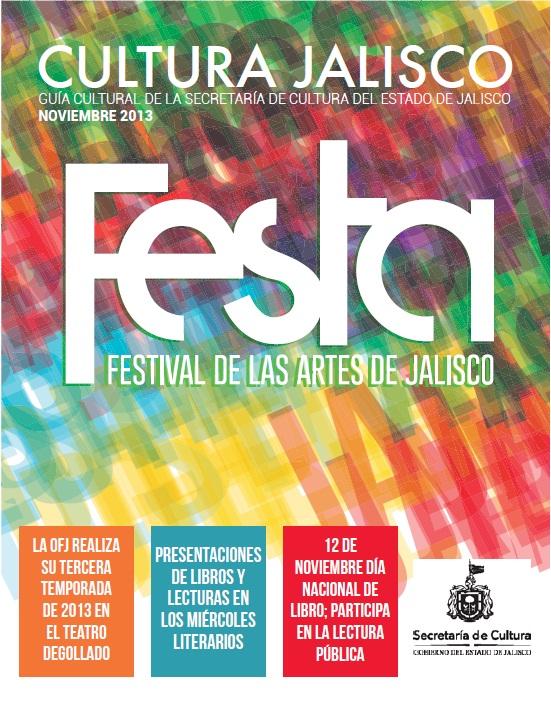 Agenda Cultural de Jalisco / Noviembre 2013