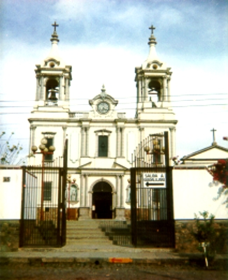 Fotografía de templo local